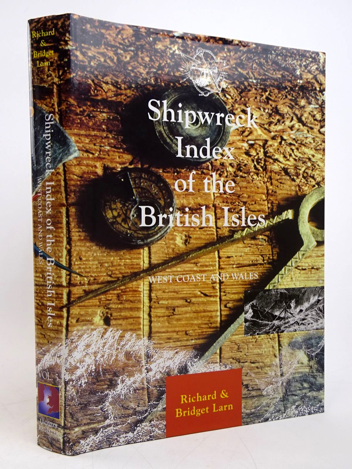 Photo of SHIPWRECK INDEX OF THE BRITISH ISLES VOLUME 5 - WEST COAST AND WALES