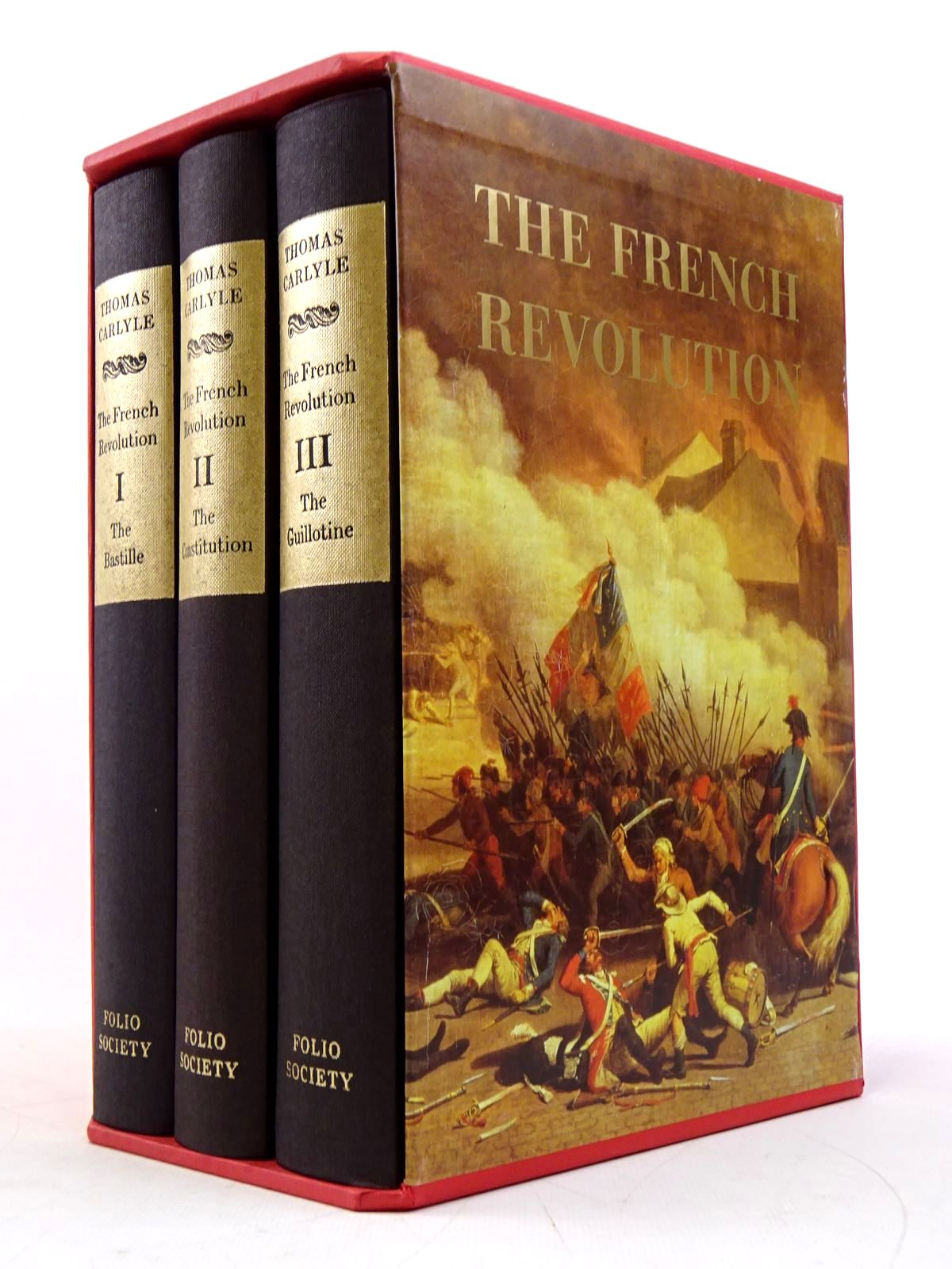 Photo of THE FRENCH REVOLUTION (3 VOLUMES)