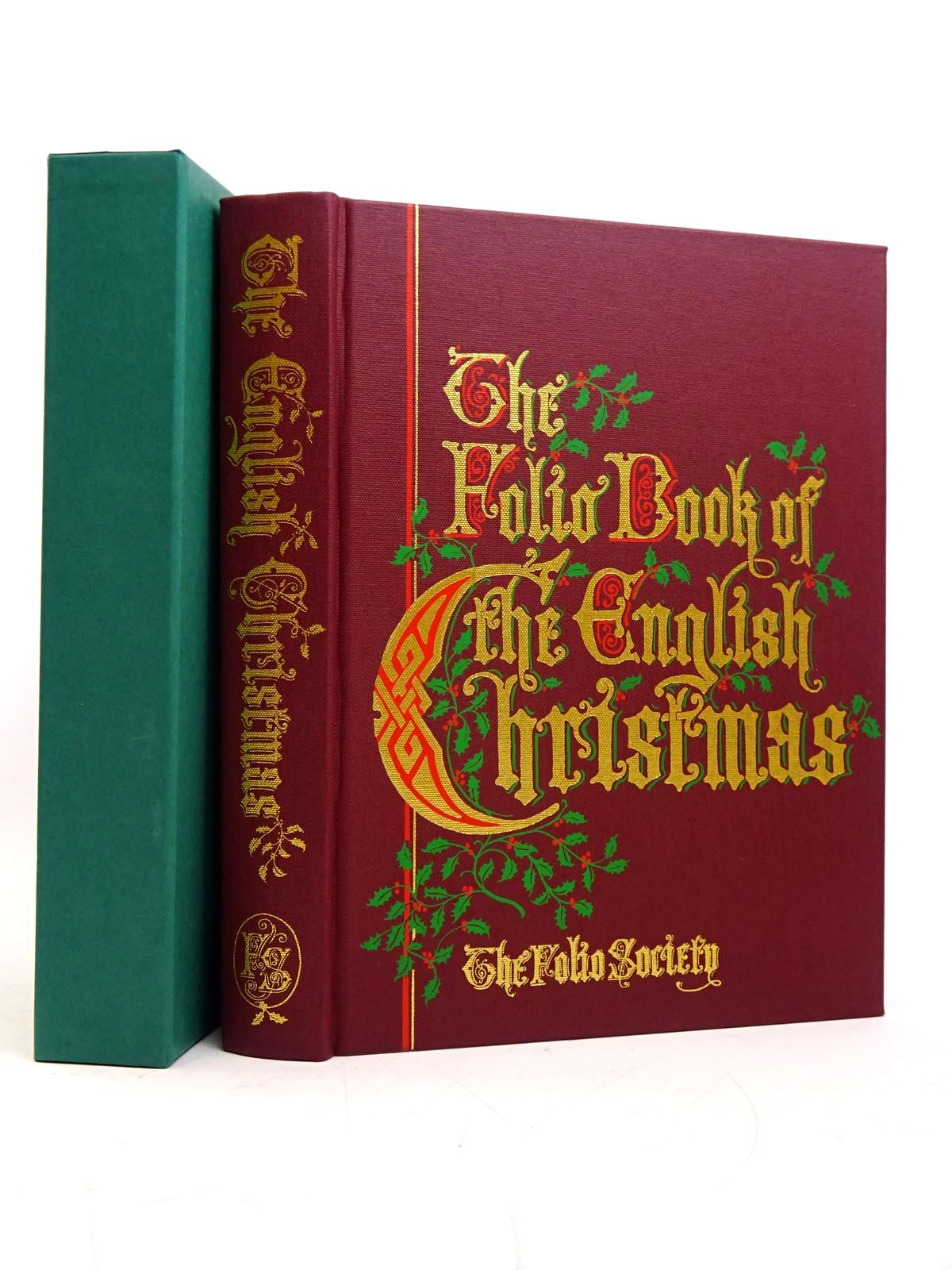 Photo of THE FOLIO BOOK OF THE ENGLISH CHRISTMAS