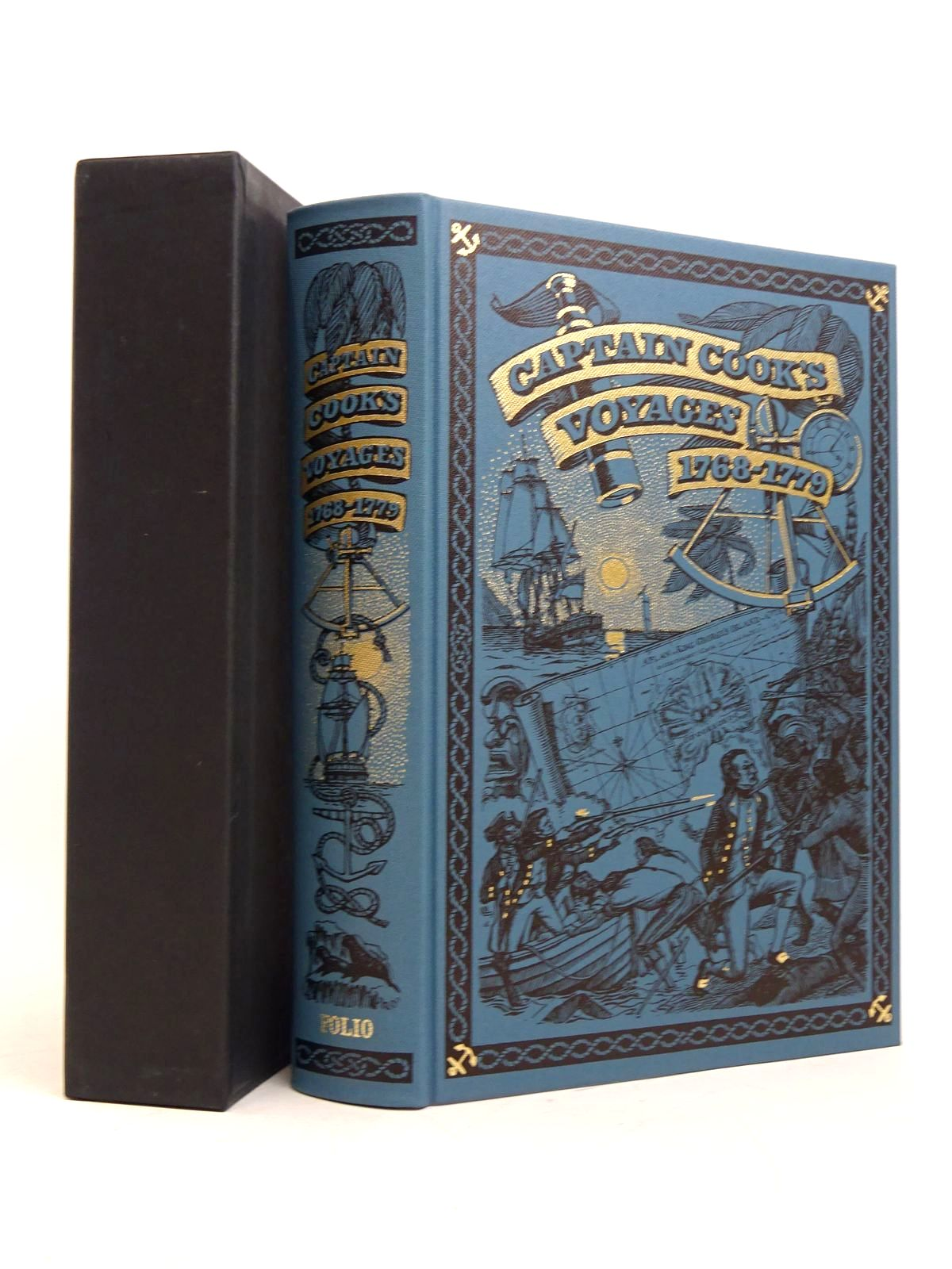 Photo of CAPTAIN COOK'S VOYAGES 1768-1779 written by Cook, Captain<br />Williams, Glyndwr published by Folio Society (STOCK CODE: 1817940)  for sale by Stella & Rose's Books