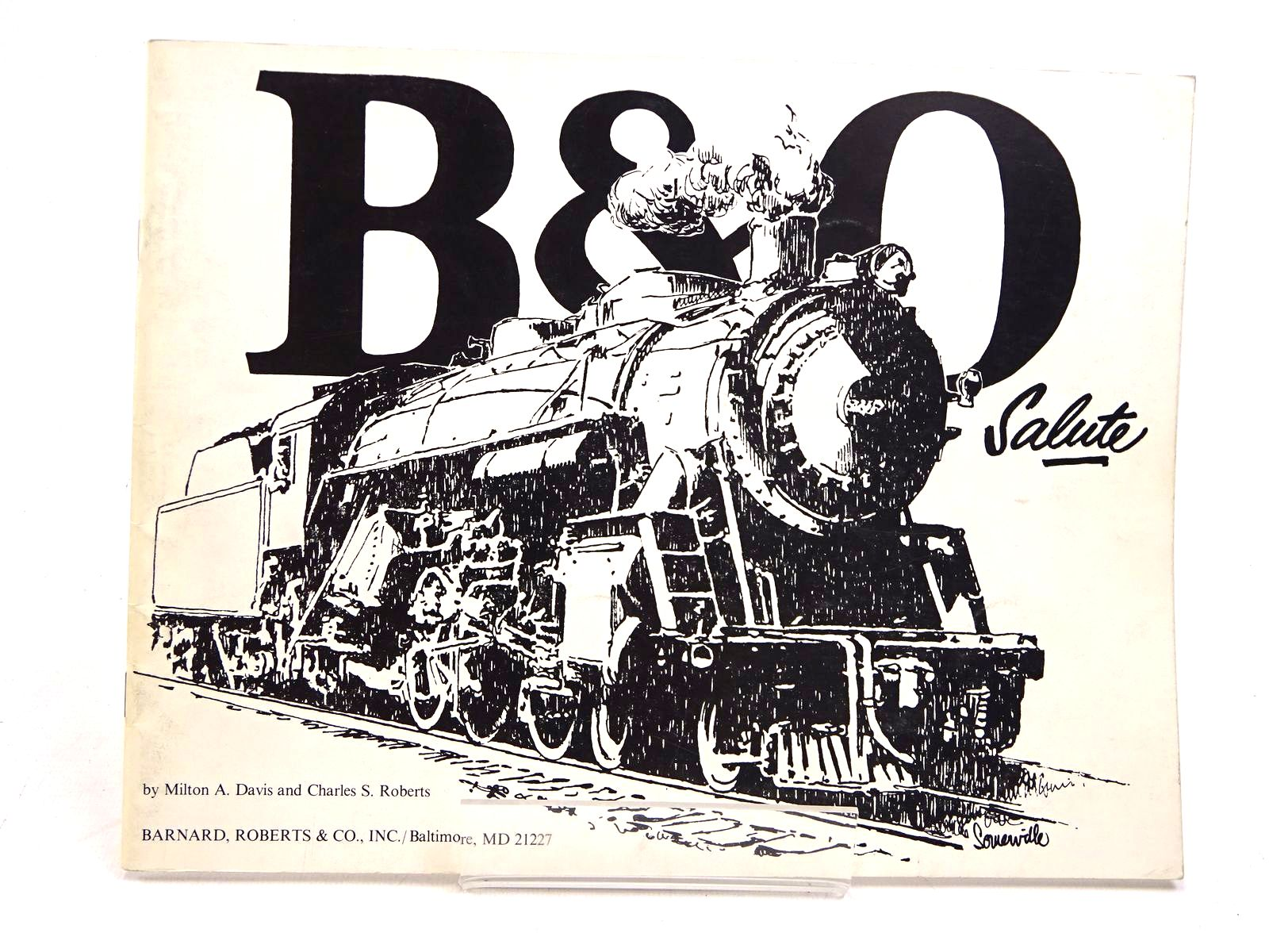 Photo of B&O SALUTE written by Davis, Milton A.<br />Roberts, Charles S. published by Barnard, Roberts & Co. Inc (STOCK CODE: 1818025)  for sale by Stella & Rose's Books