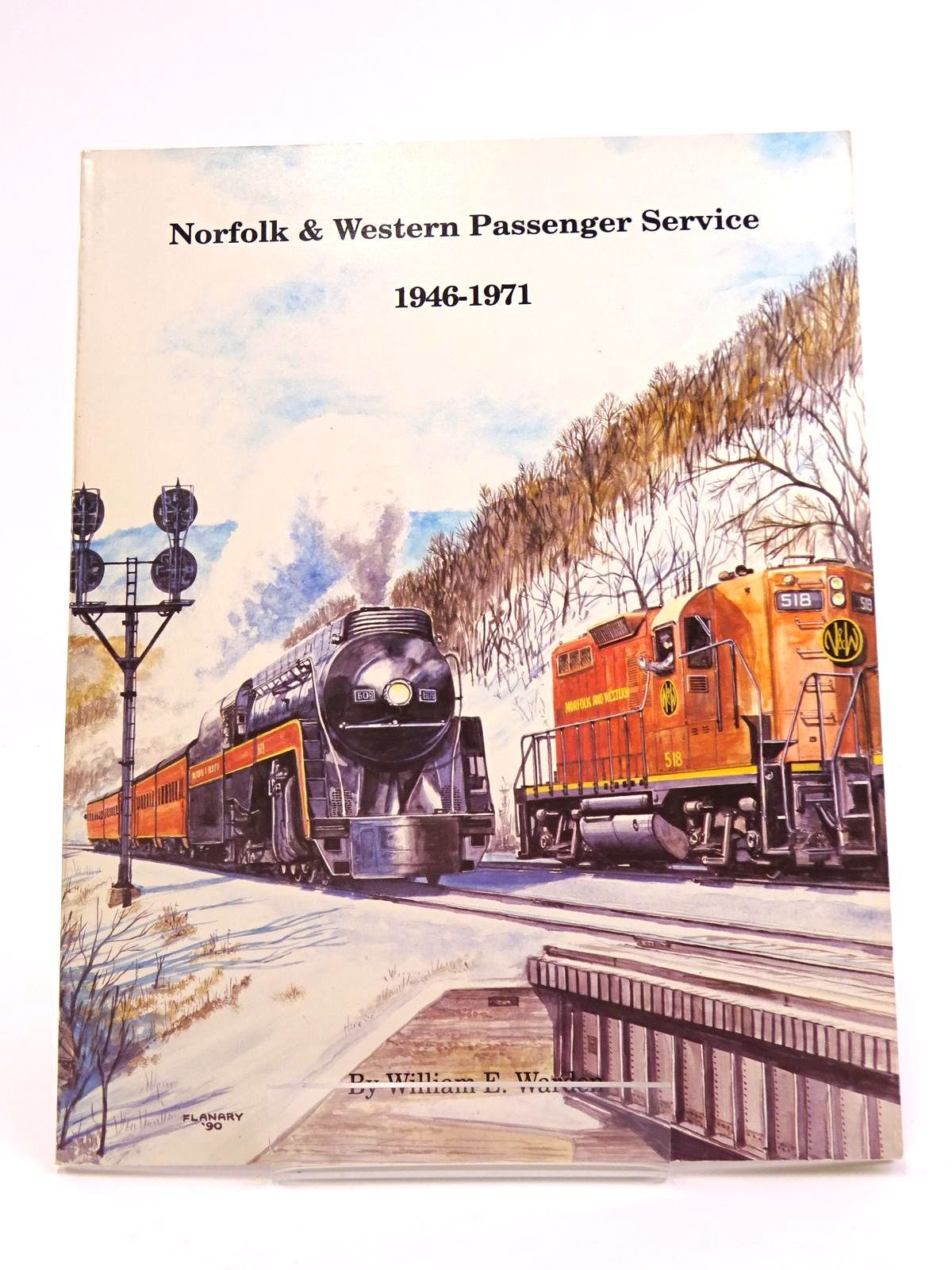 Photo of NORFOLK AND WESTERN PASSENGER SERVICE 1946-1971 written by Warden, William P. published by TLC Publishing Inc. (STOCK CODE: 1818079)  for sale by Stella & Rose's Books