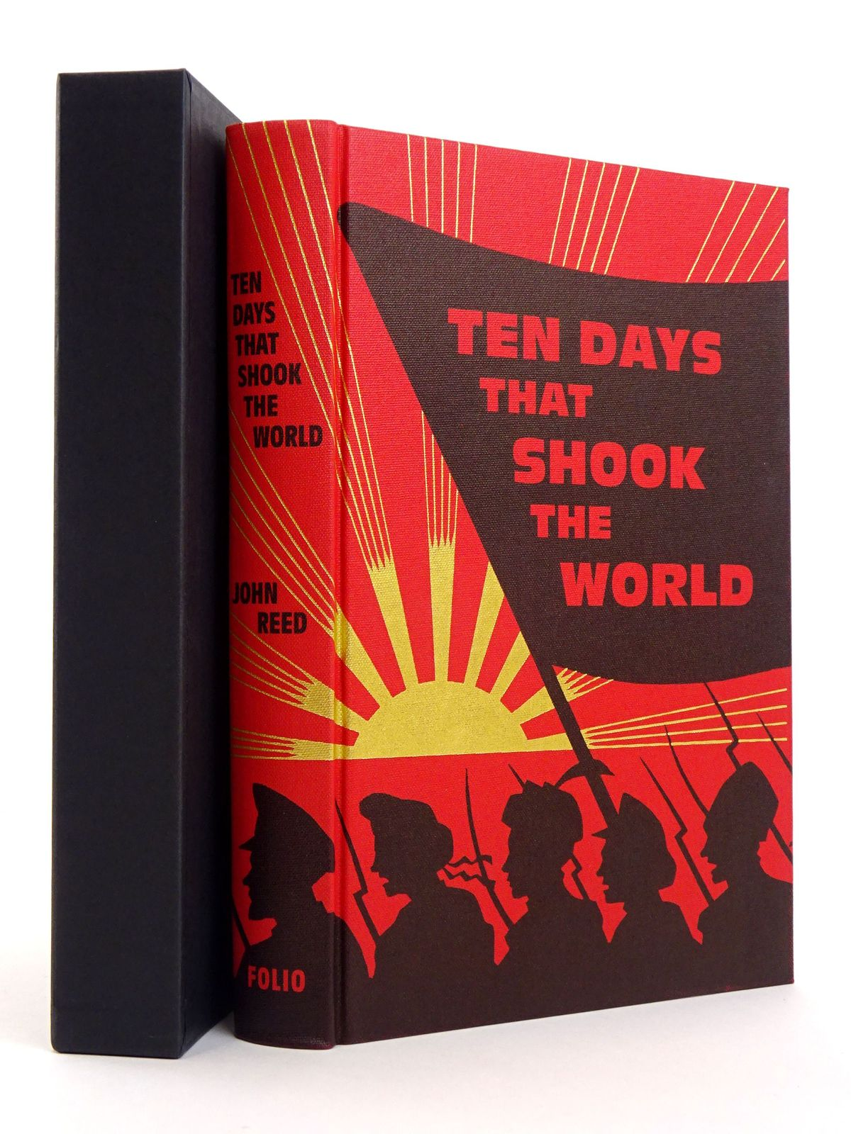 Photo of TEN DAYS THAT SHOOK THE WORLD written by Reed, John published by Folio Society (STOCK CODE: 1818130)  for sale by Stella & Rose's Books