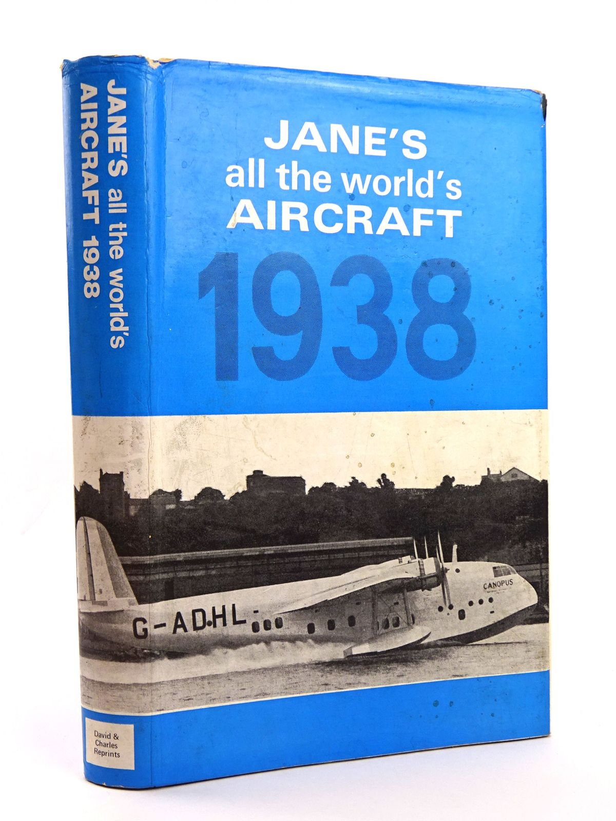 Photo of JANE'S ALL THE WORLD'S AIRCRAFT 1938