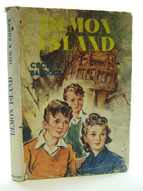 Photo of DEMON ISLAND written by Baldock, Cecil R. illustrated by Hamilton, W. Bryce published by George Newnes Limited (STOCK CODE: 2105286)  for sale by Stella & Rose's Books