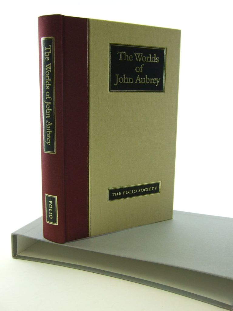 Photo of THE WORLDS OF JOHN AUBREY written by Aubrey, John<br />Barber, Richard published by Folio Society (STOCK CODE: 2106360)  for sale by Stella & Rose's Books