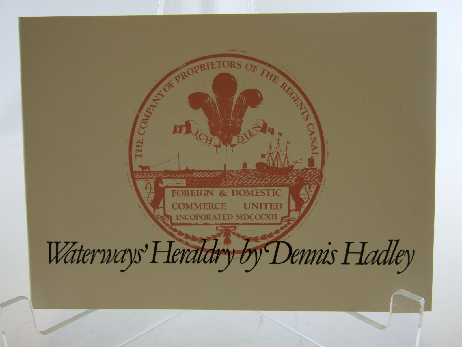 Photo of WATERWAYS' HERALDRY written by Hadley, Dennis published by The Waterways Museum (STOCK CODE: 2106391)  for sale by Stella & Rose's Books