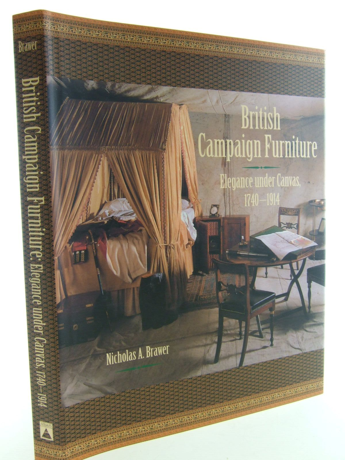 Photo of british campaign furniture written by brawer nicholas a published by harry n