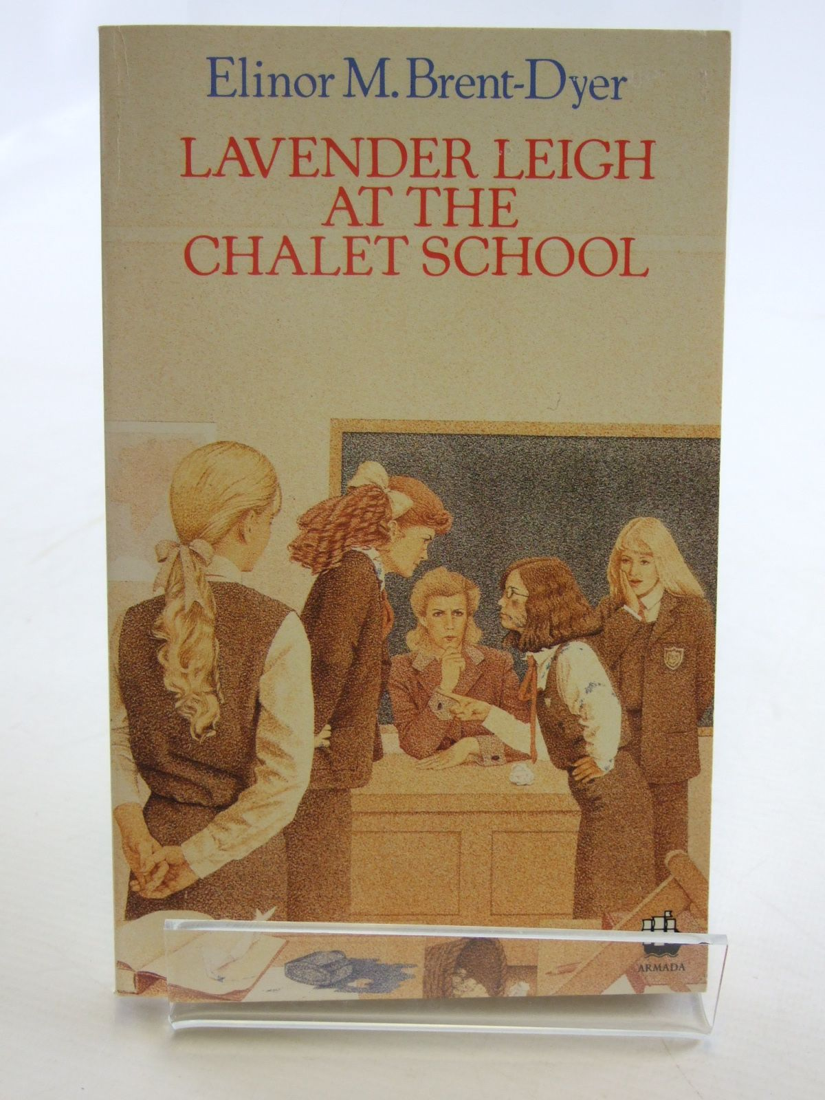 Photo of LAVENDER LEIGH AT THE CHALET SCHOOL written by Brent-Dyer, Elinor M. published by Armada (STOCK CODE: 2106767)  for sale by Stella & Rose's Books