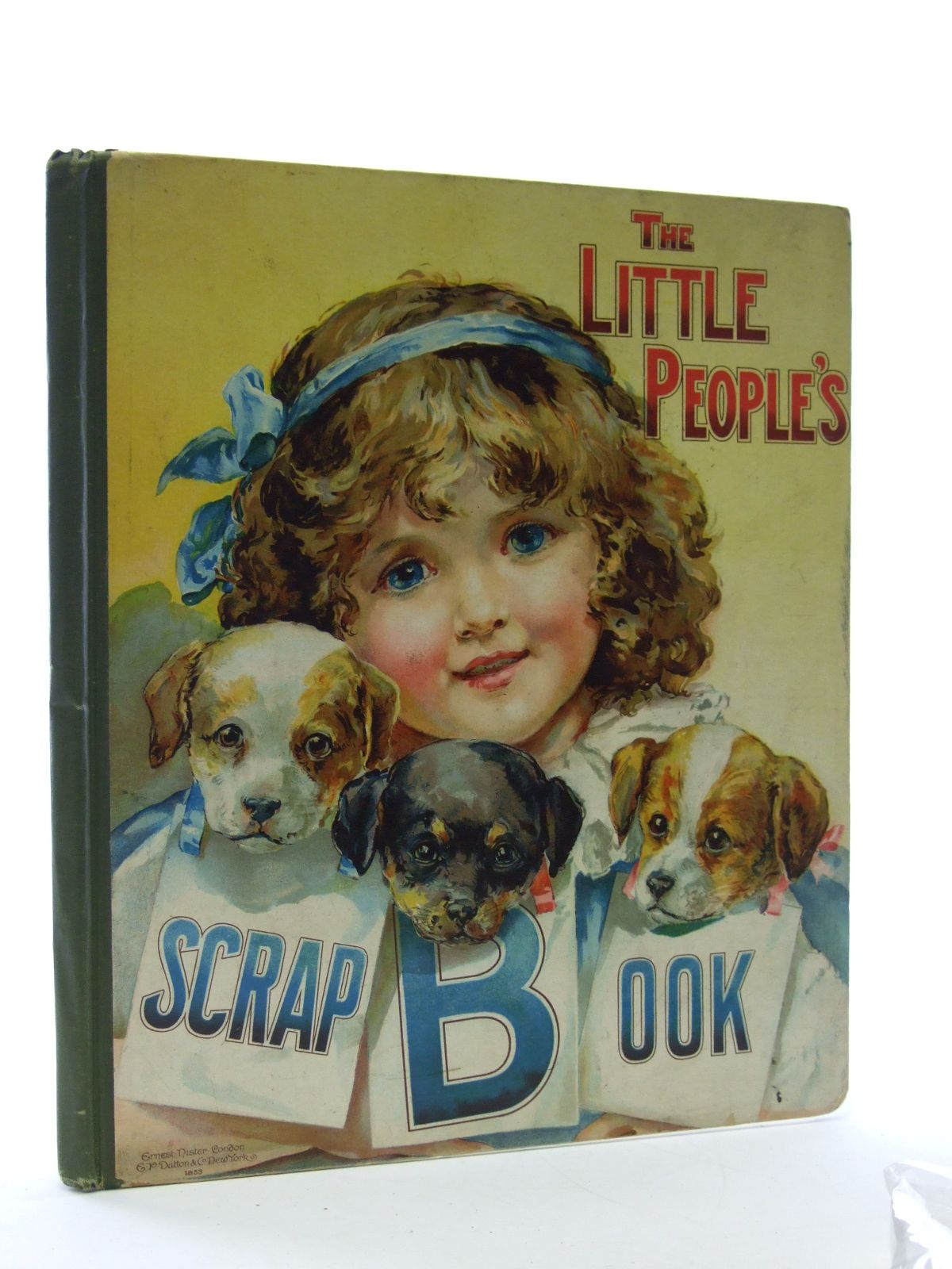 Photo of THE LITTLE PEOPLE'S SCRAP BOOK published by Ernest Nister (STOCK CODE: 2106943)  for sale by Stella & Rose's Books