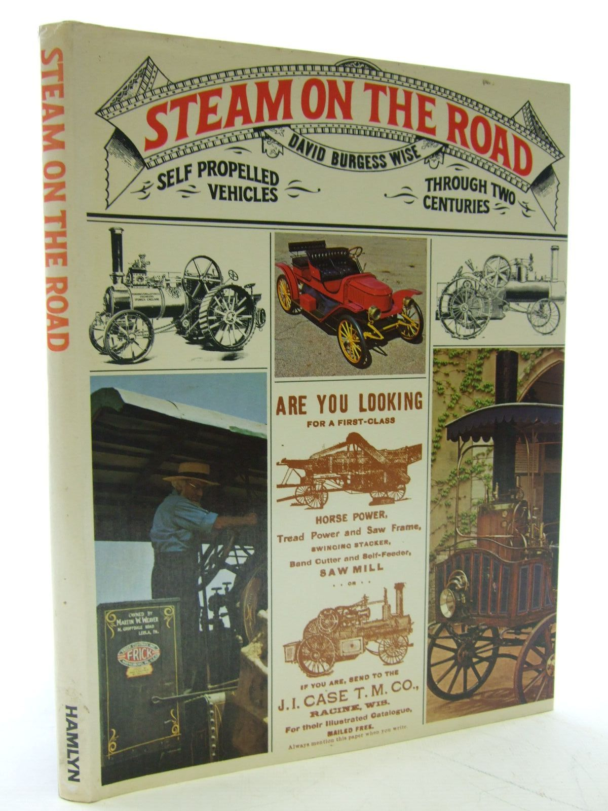 Photo of STEAM ON THE ROAD written by Wise, David Burgess published by Hamlyn (STOCK CODE: 2107088)  for sale by Stella & Rose's Books