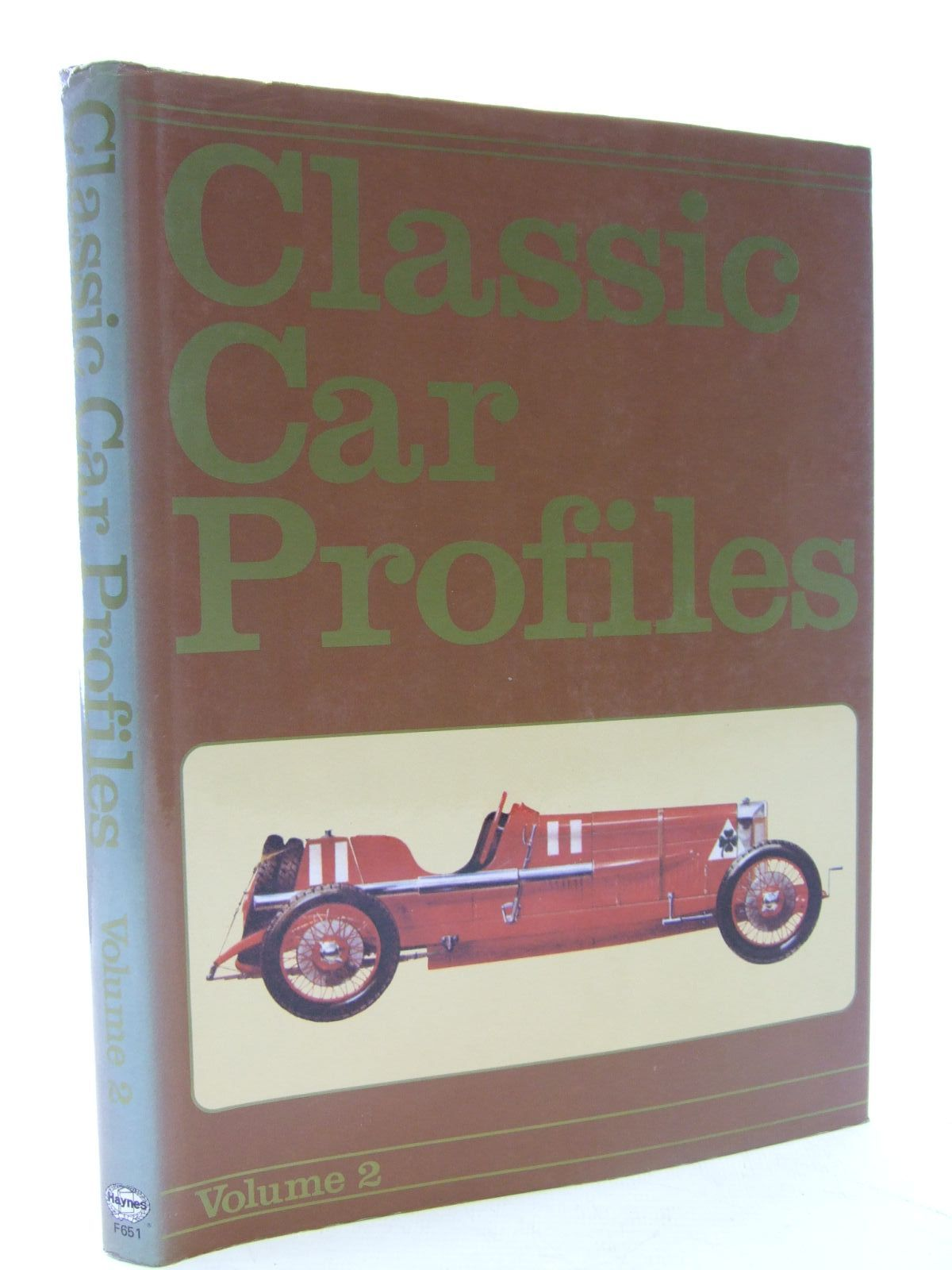 Photo of CLASSIC CAR PROFILES VOLUME 2 published by Foulis, Haynes (STOCK CODE: 2107091)  for sale by Stella & Rose's Books