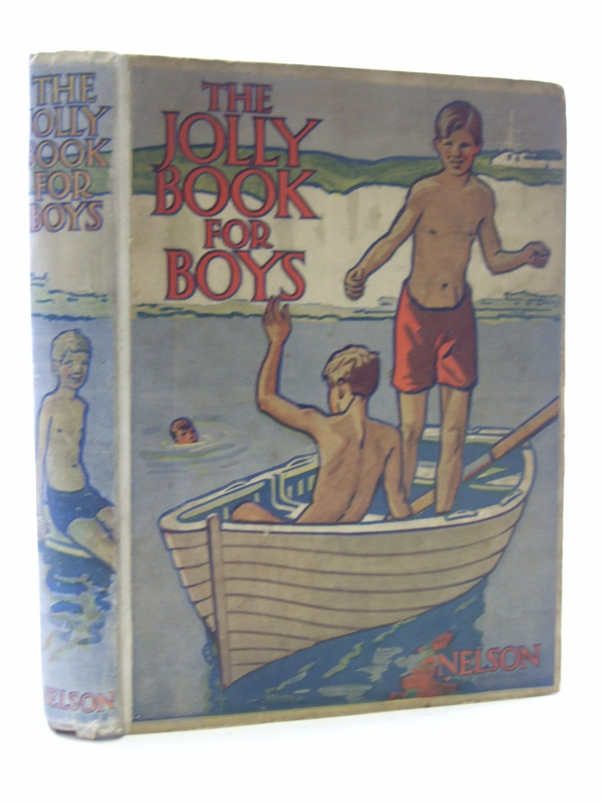 Photo of THE JOLLY BOOK FOR BOYS written by Chisholm, Edwin<br />Hart, Frank<br />et al,  published by Thomas Nelson and Sons Ltd. (STOCK CODE: 2107136)  for sale by Stella & Rose's Books