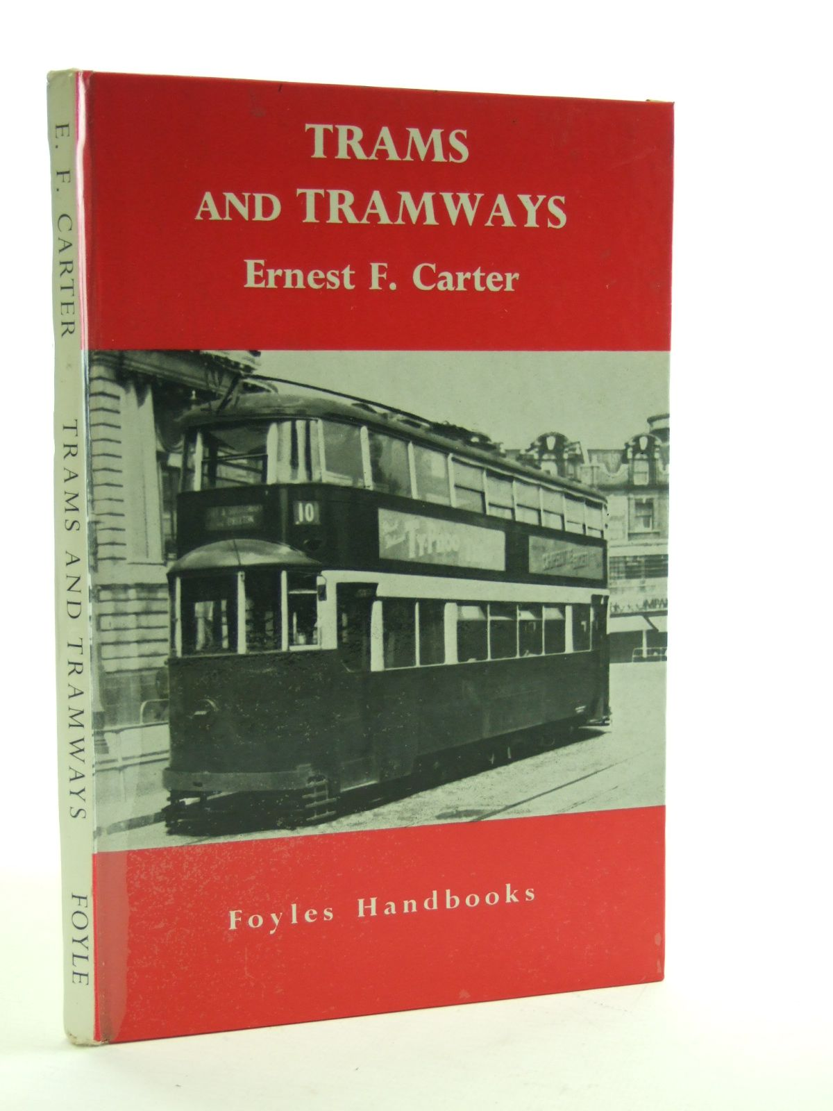 Photo of TRAMS AND TRAMWAYS written by Carter, Ernest F. published by W. & G. Foyle Ltd. (STOCK CODE: 2107307)  for sale by Stella & Rose's Books
