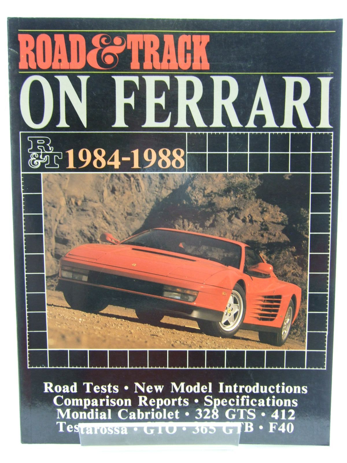 Photo of ROAD & TRACK ON FERRARI 1984-1988 published by Brooklands Books (STOCK CODE: 2107480)  for sale by Stella & Rose's Books