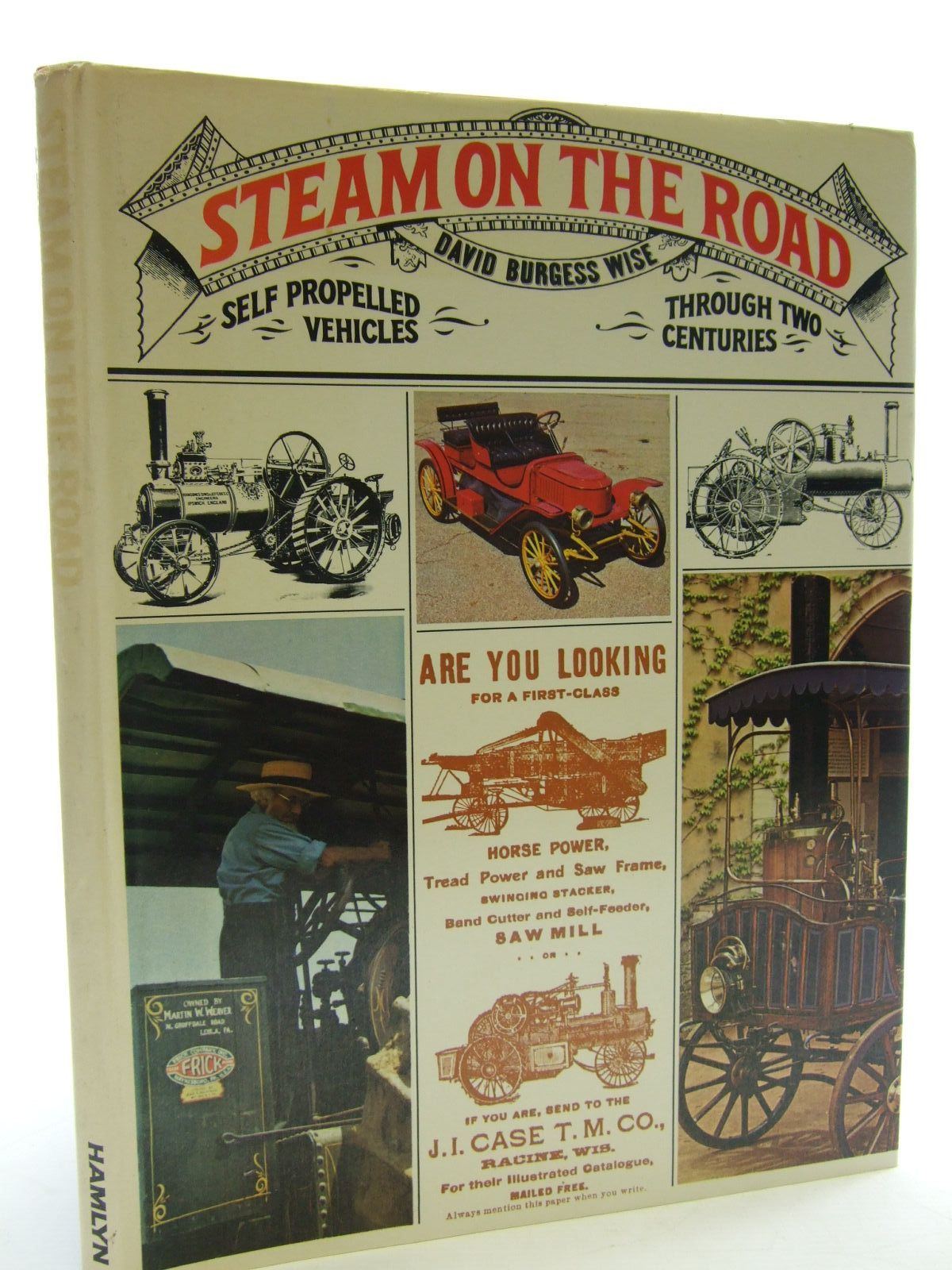 Photo of STEAM ON THE ROAD written by Wise, David Burgess published by Hamlyn (STOCK CODE: 2107481)  for sale by Stella & Rose's Books