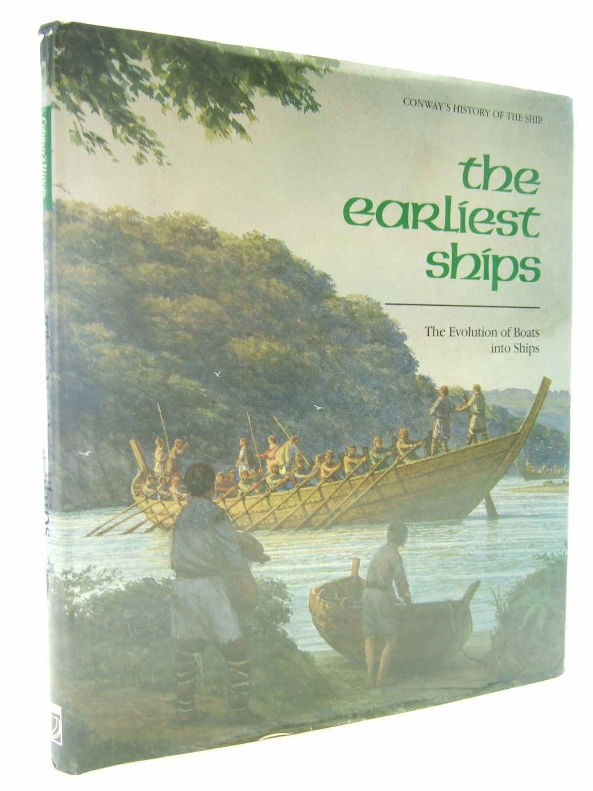 Photo of THE EARLIEST SHIPS THE EVOLUTION OF BOATS INTO SHIPS written by Gardiner, Robert<br />Christensen, Arne Emil published by Conway Maritime Press (STOCK CODE: 2107795)  for sale by Stella & Rose's Books