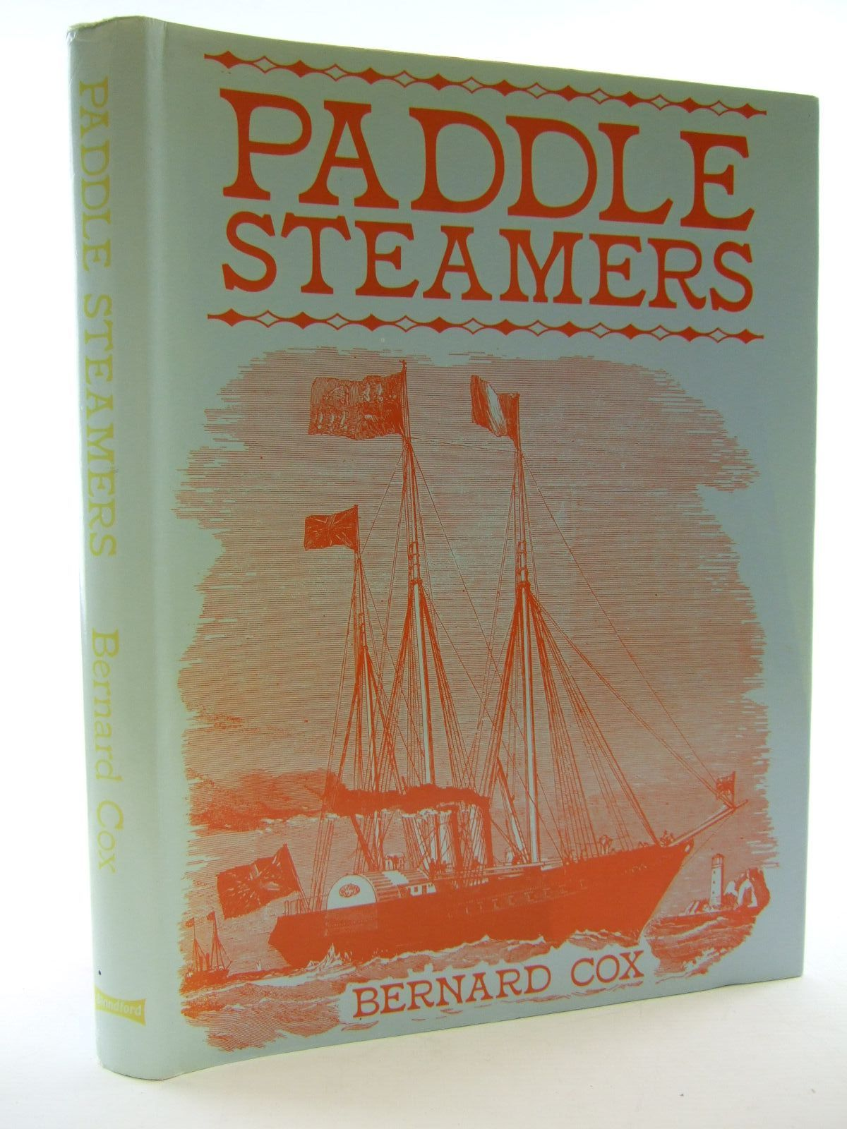 Photo of PADDLE STEAMERS written by Cox, Bernard published by Blandford Press (STOCK CODE: 2107810)  for sale by Stella & Rose's Books