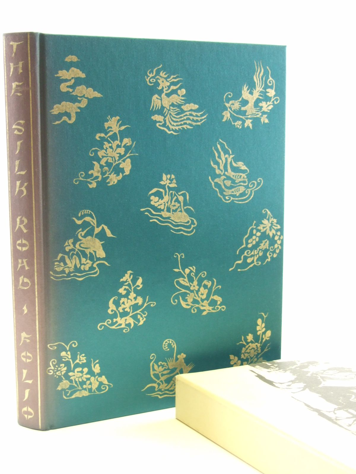 Photo of THE SILK ROAD written by Wood, Frances published by Folio Society (STOCK CODE: 2107848)  for sale by Stella & Rose's Books