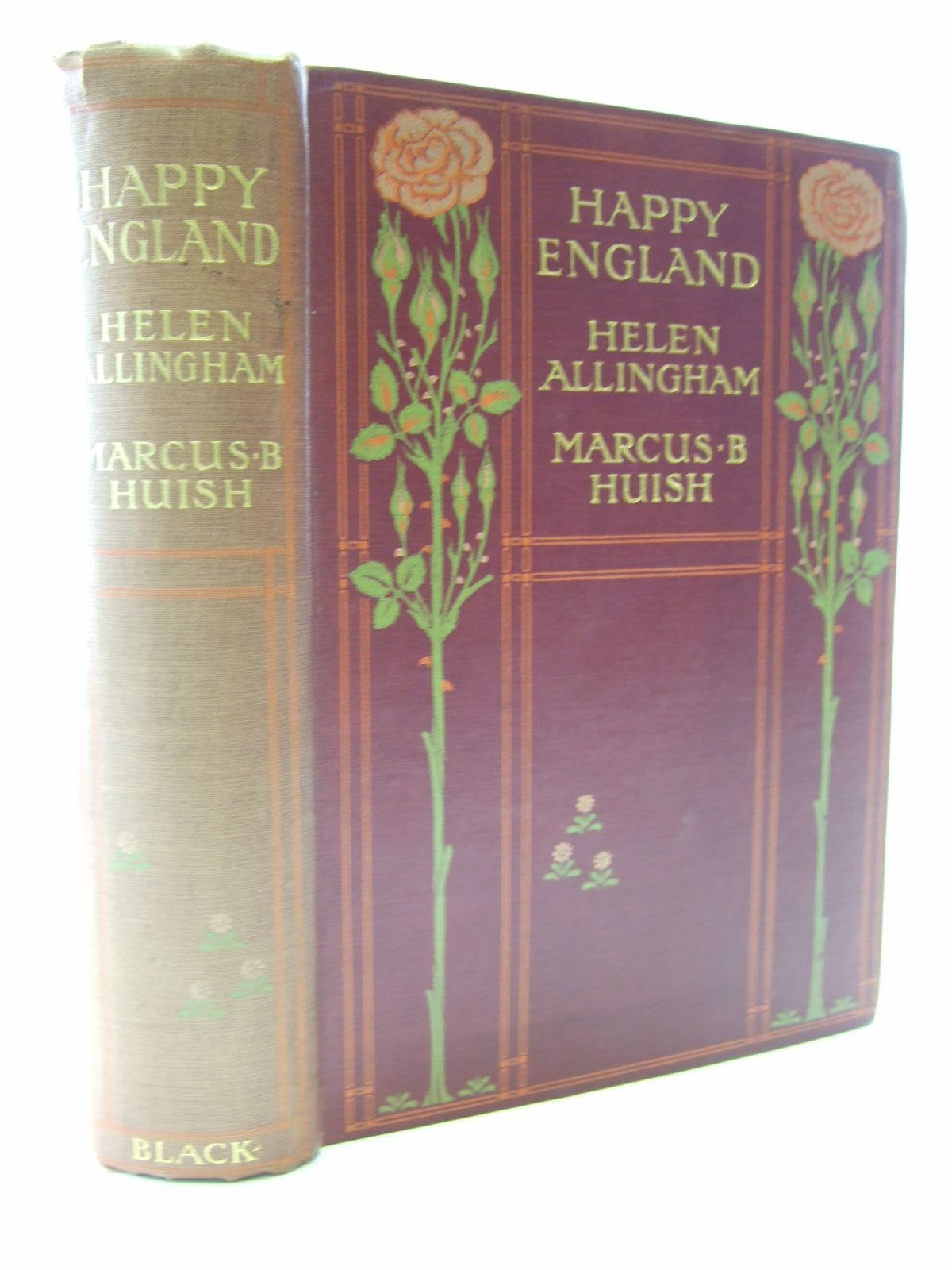 Photo of HAPPY ENGLAND written by Huish, Marcus B. illustrated by Allingham, Helen published by Adam & Charles Black (STOCK CODE: 2107921)  for sale by Stella & Rose's Books