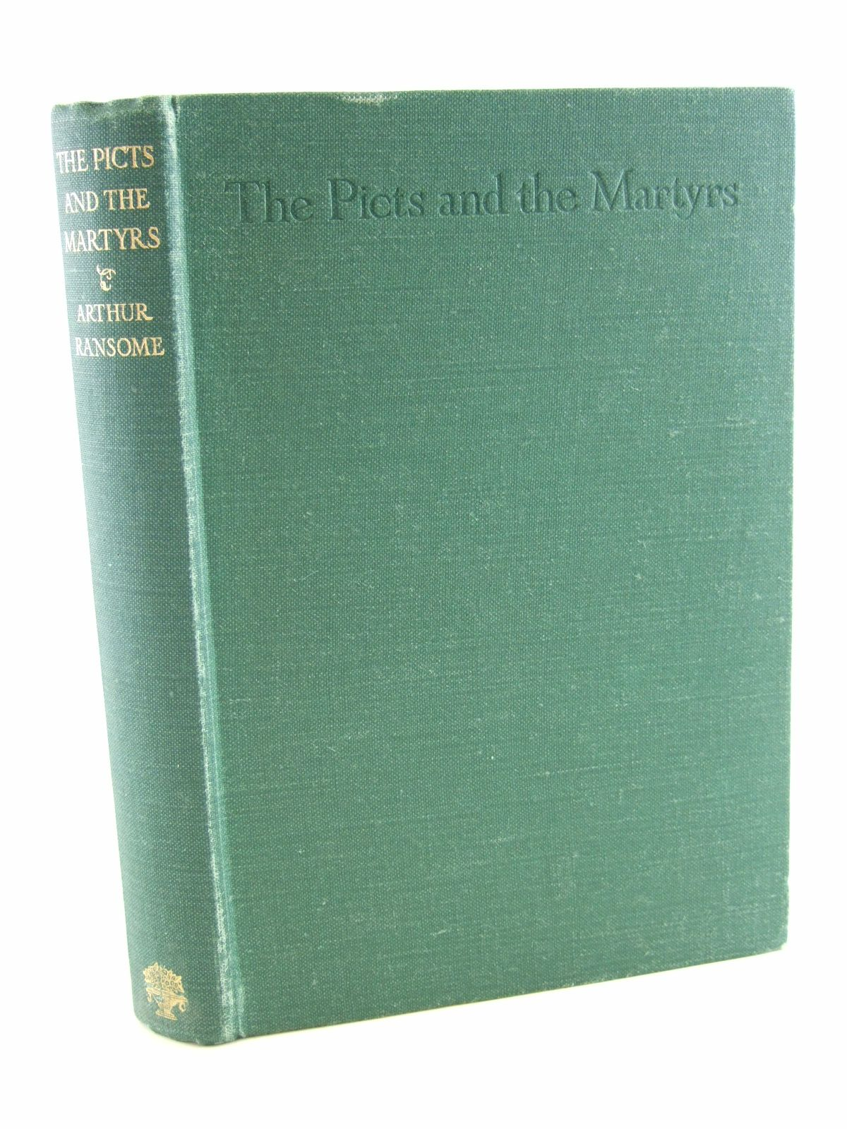 Photo of THE PICTS AND THE MARTYRS written by Ransome, Arthur illustrated by Ransome, Arthur published by Jonathan Cape (STOCK CODE: 2107994)  for sale by Stella & Rose's Books