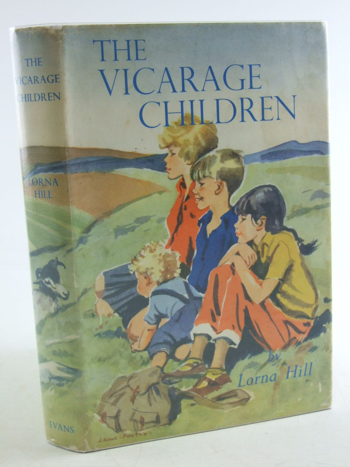 Photo of THE VICARAGE CHILDREN written by Hill, Lorna illustrated by Foster, Marcia Lane published by Evans Brothers Limited (STOCK CODE: 2108028)  for sale by Stella & Rose's Books