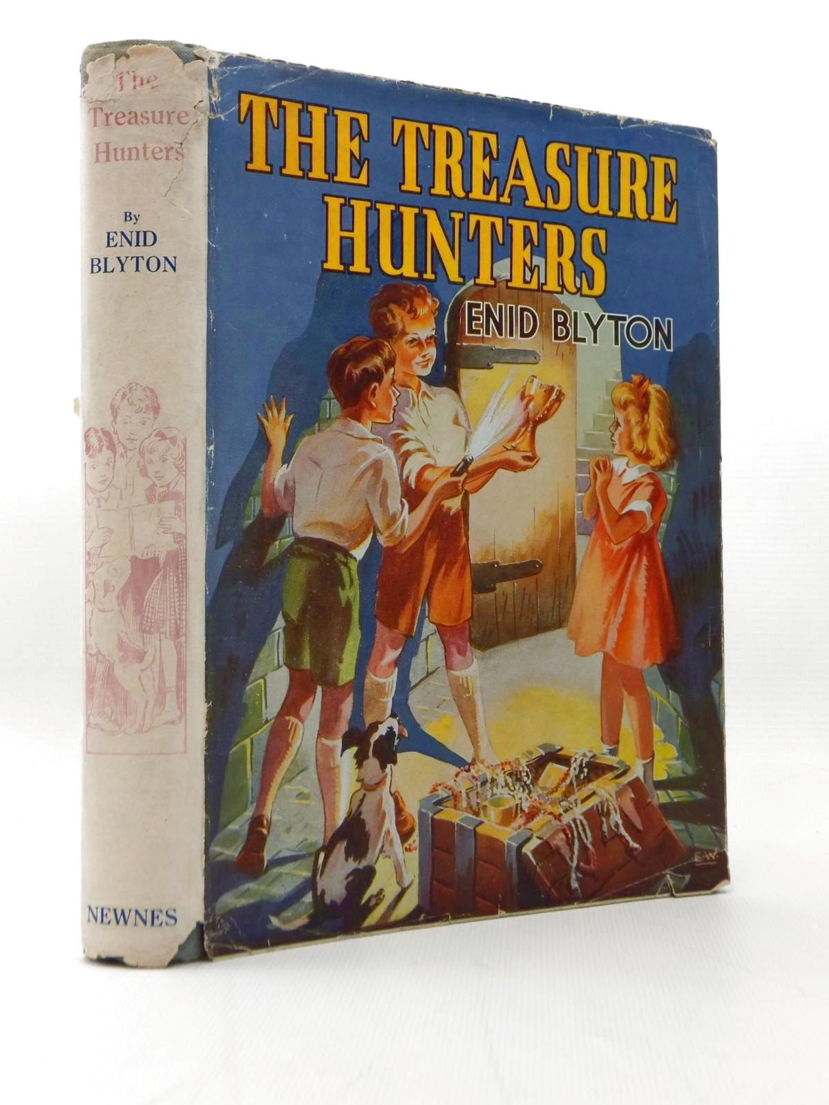 Photo of THE TREASURE HUNTERS written by Blyton, Enid illustrated by Wilson, E.<br />Davies, Joyce published by George Newnes Limited (STOCK CODE: 2108069)  for sale by Stella & Rose's Books