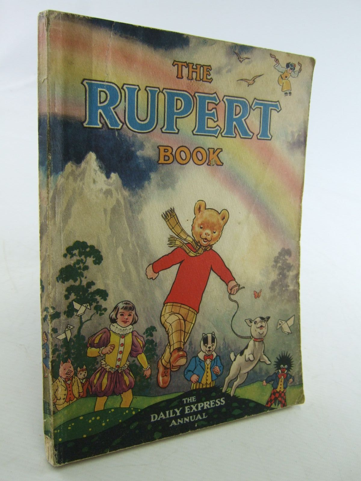Photo of RUPERT ANNUAL 1948 - THE RUPERT BOOK written by Bestall, Alfred illustrated by Bestall, Alfred published by Daily Express (STOCK CODE: 2108085)  for sale by Stella & Rose's Books