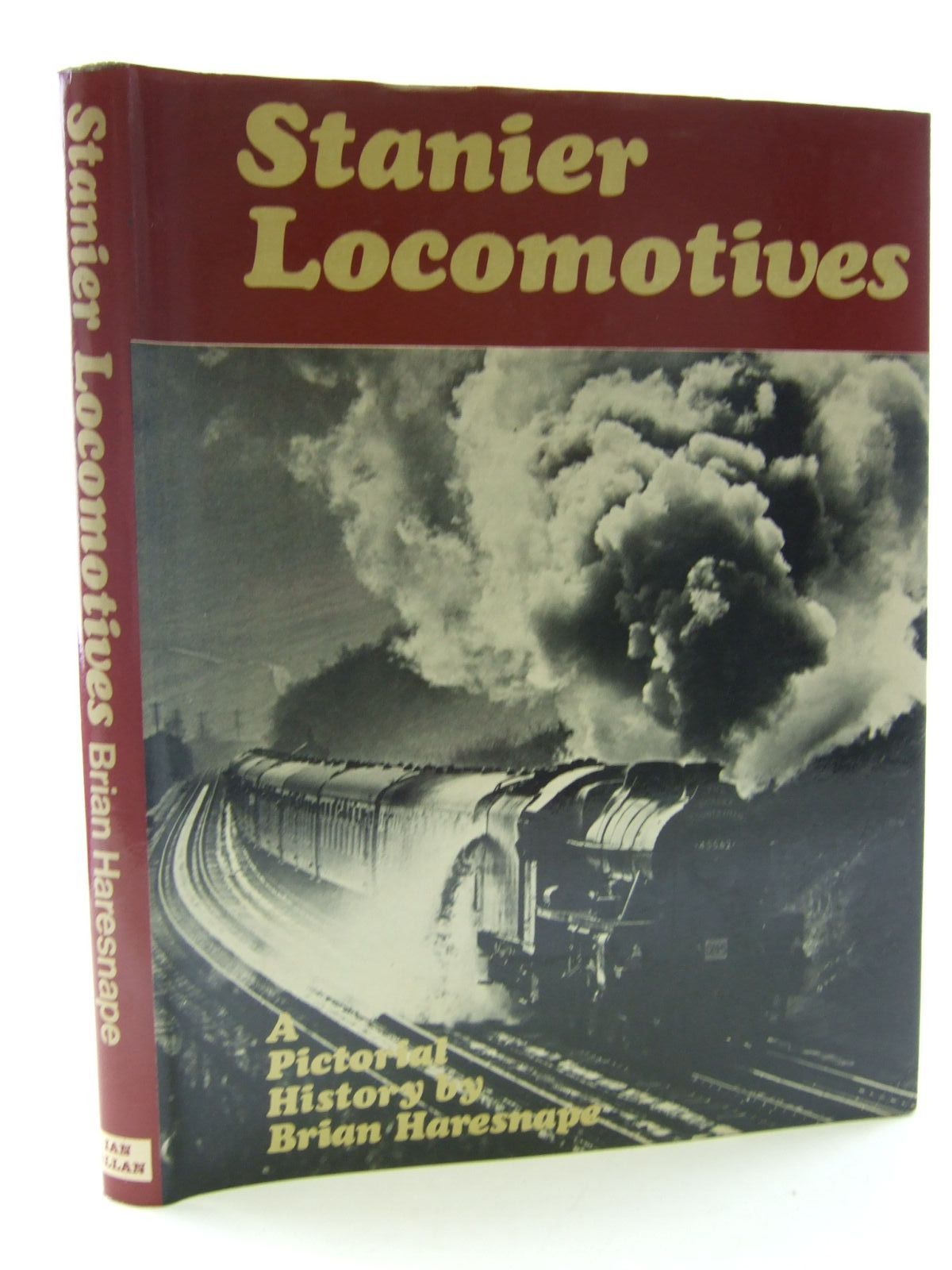 Photo of STANIER LOCOMOTIVES written by Haresnape, Brian published by Ian Allan (STOCK CODE: 2108242)  for sale by Stella & Rose's Books