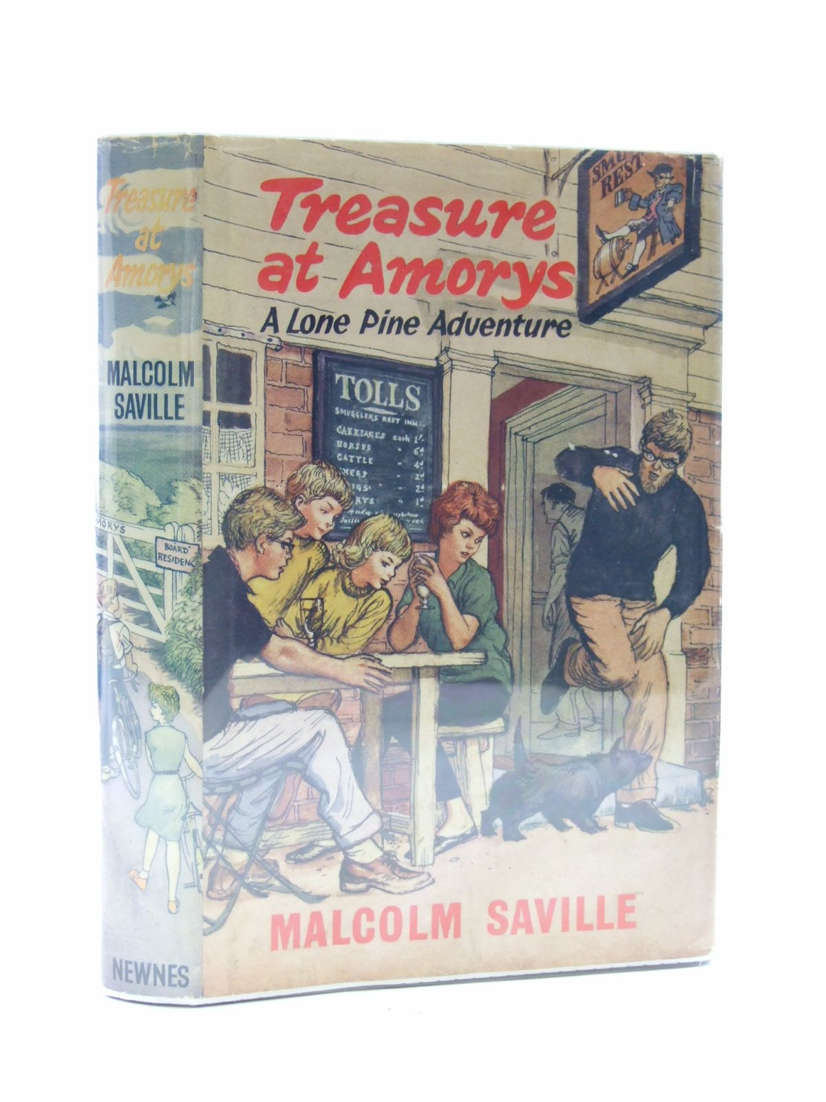 Photo of TREASURE AT AMORYS written by Saville, Malcolm illustrated by Freeman, Terence published by Newnes (STOCK CODE: 2108800)  for sale by Stella & Rose's Books