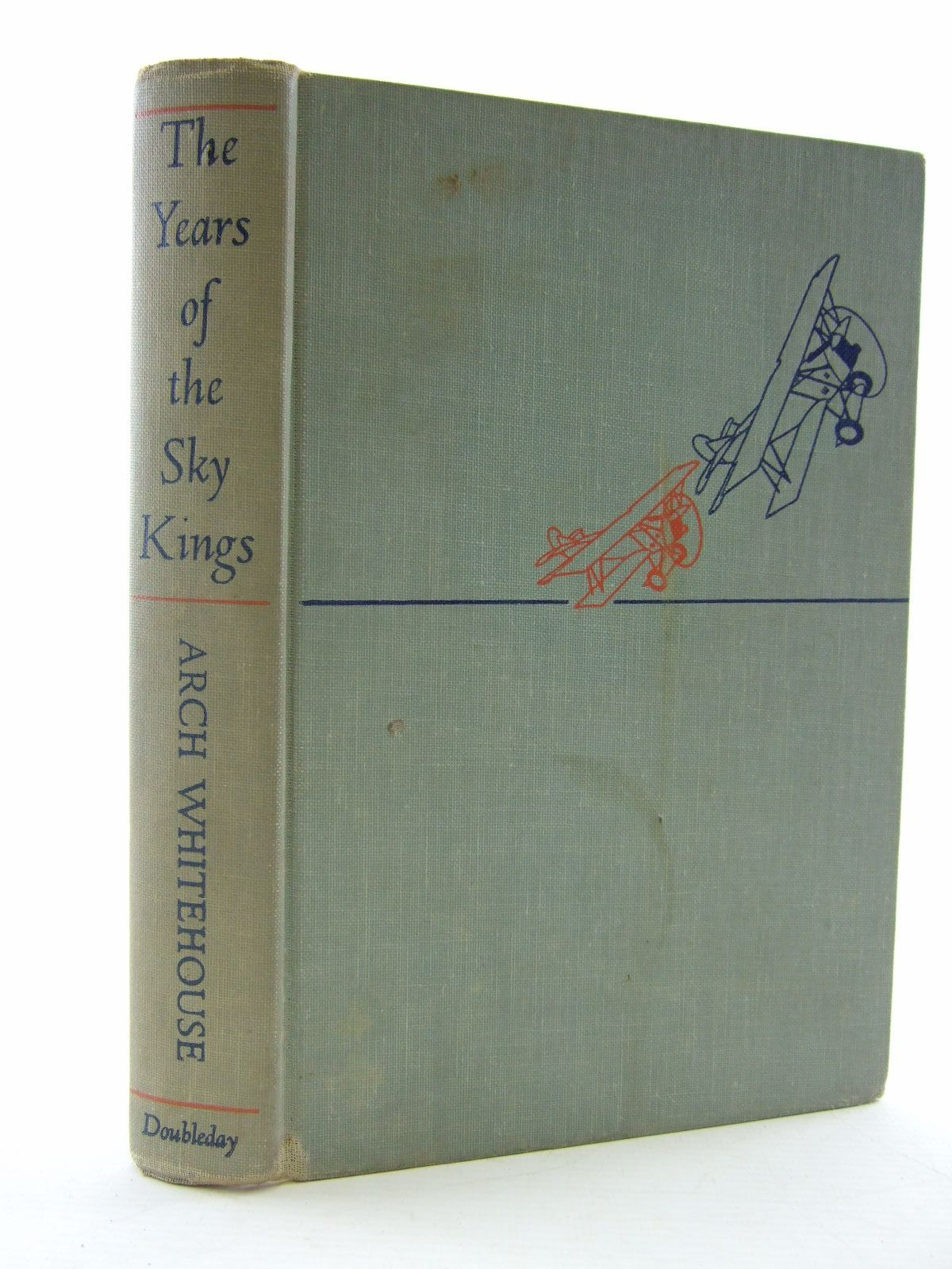 Photo of THE YEARS OF THE SKY KINGS written by Whitehouse, Arch published by Doubleday & Company, Inc. (STOCK CODE: 2109034)  for sale by Stella & Rose's Books