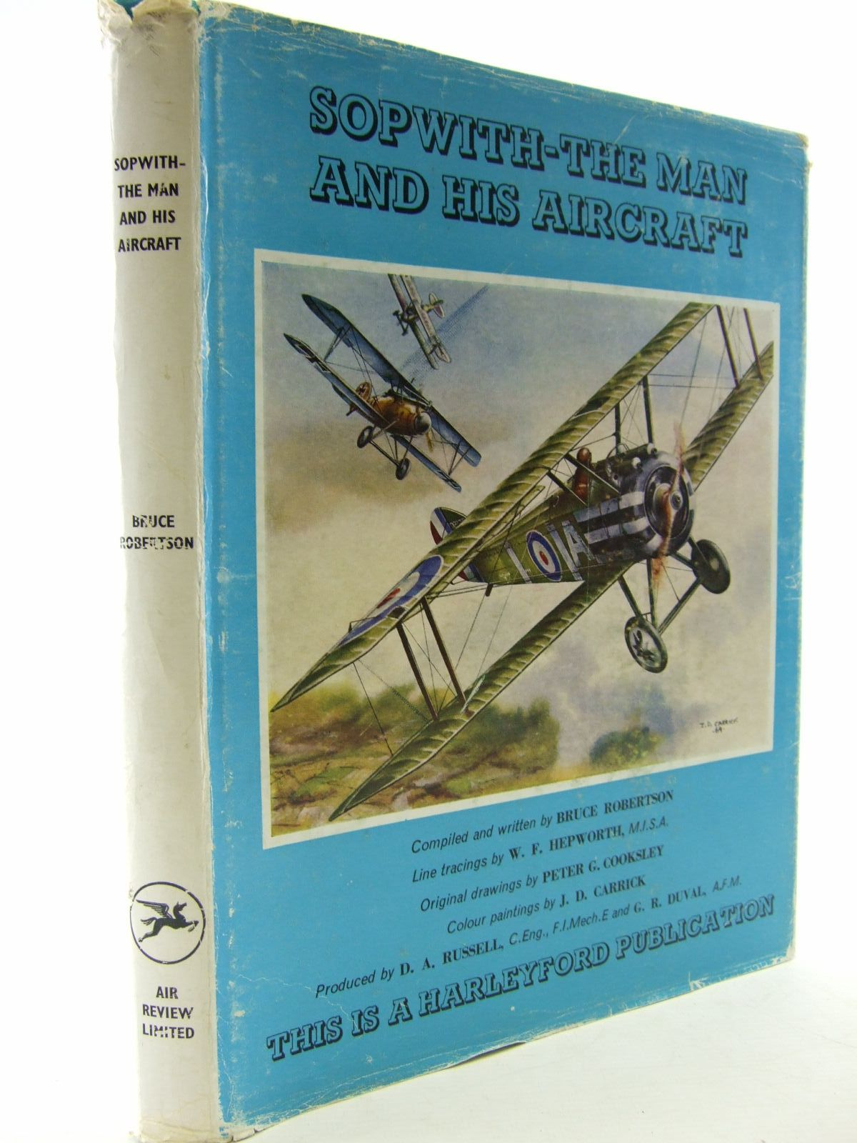 Photo of SOPWITH - THE MAN AND HIS AIRCRAFT written by Robertson, Bruce illustrated by Carrick, J.D.<br />Cooksley, Peter G.<br />Hepworth, W.F. published by Air Review Ltd. (STOCK CODE: 2109072)  for sale by Stella & Rose's Books