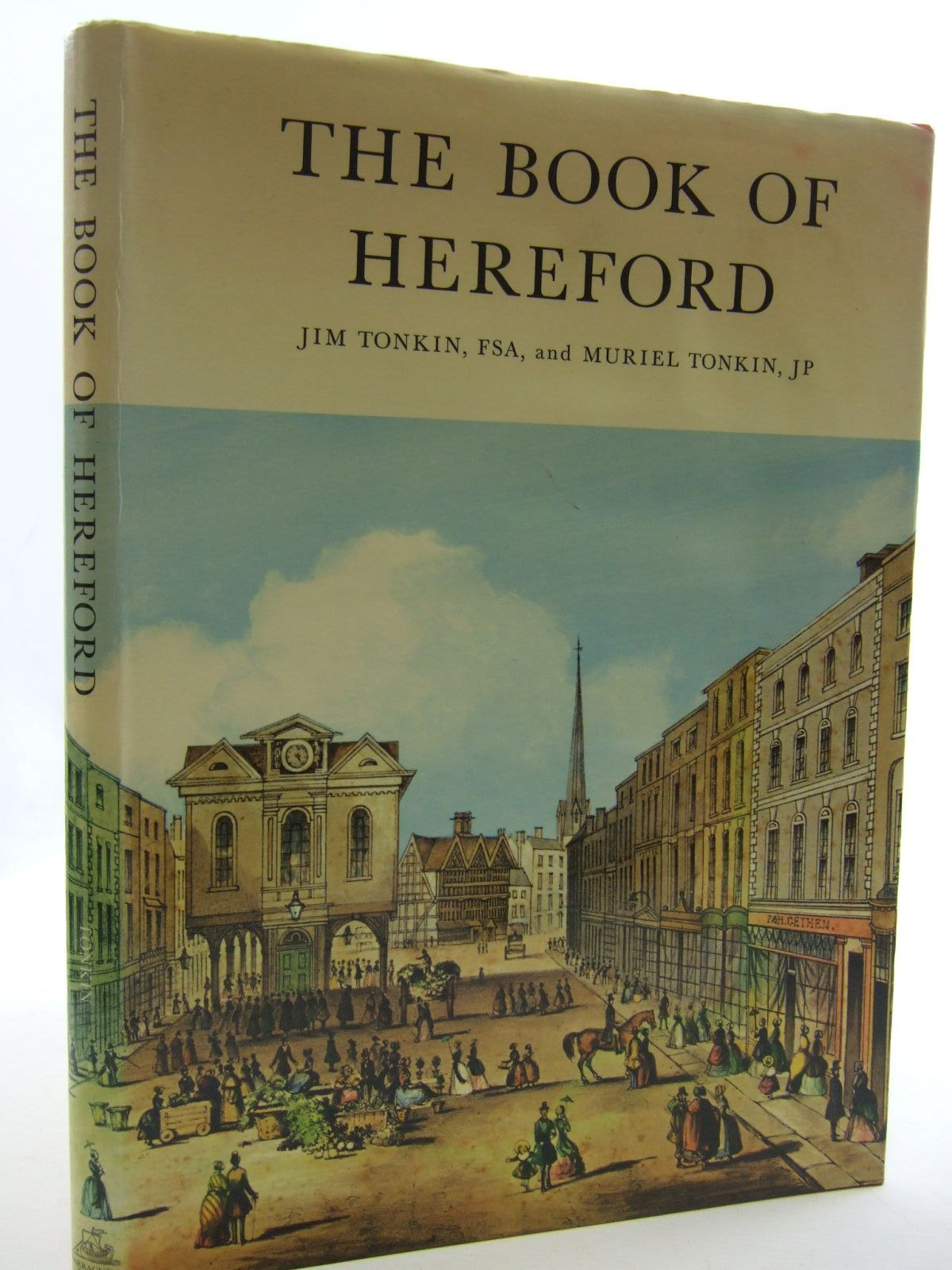 Photo of THE BOOK OF HEREFORD written by Tonkin, Jim<br />Tonkin, Muriel published by Barracuda Books (STOCK CODE: 2109523)  for sale by Stella & Rose's Books
