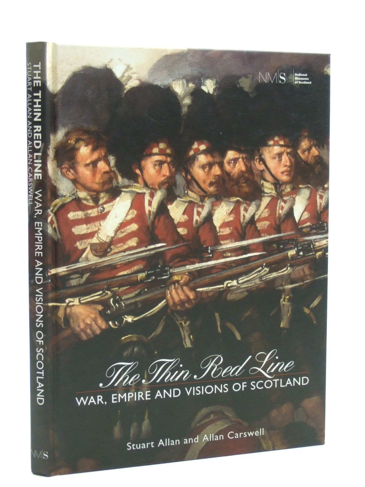 Photo of THE THIN RED LINE written by Allan, Stuart<br />Carswell, Allan published by National Museums Of Scotland Publishing Limited (STOCK CODE: 2109839)  for sale by Stella & Rose's Books