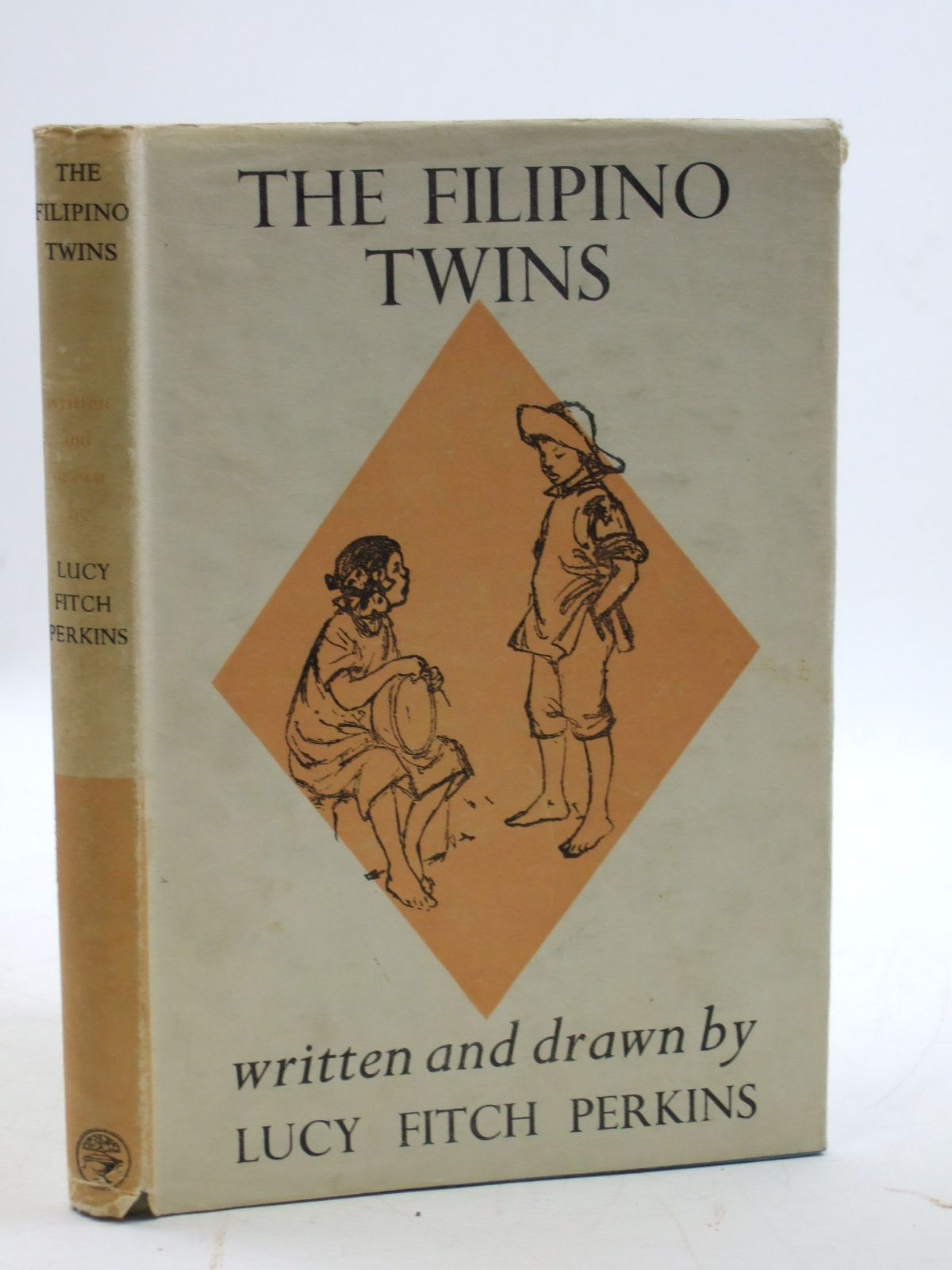 Photo of THE FILIPINO TWINS written by Perkins, Lucy Fitch illustrated by Perkins, Lucy Fitch published by Jonathan Cape (STOCK CODE: 2109947)  for sale by Stella & Rose's Books