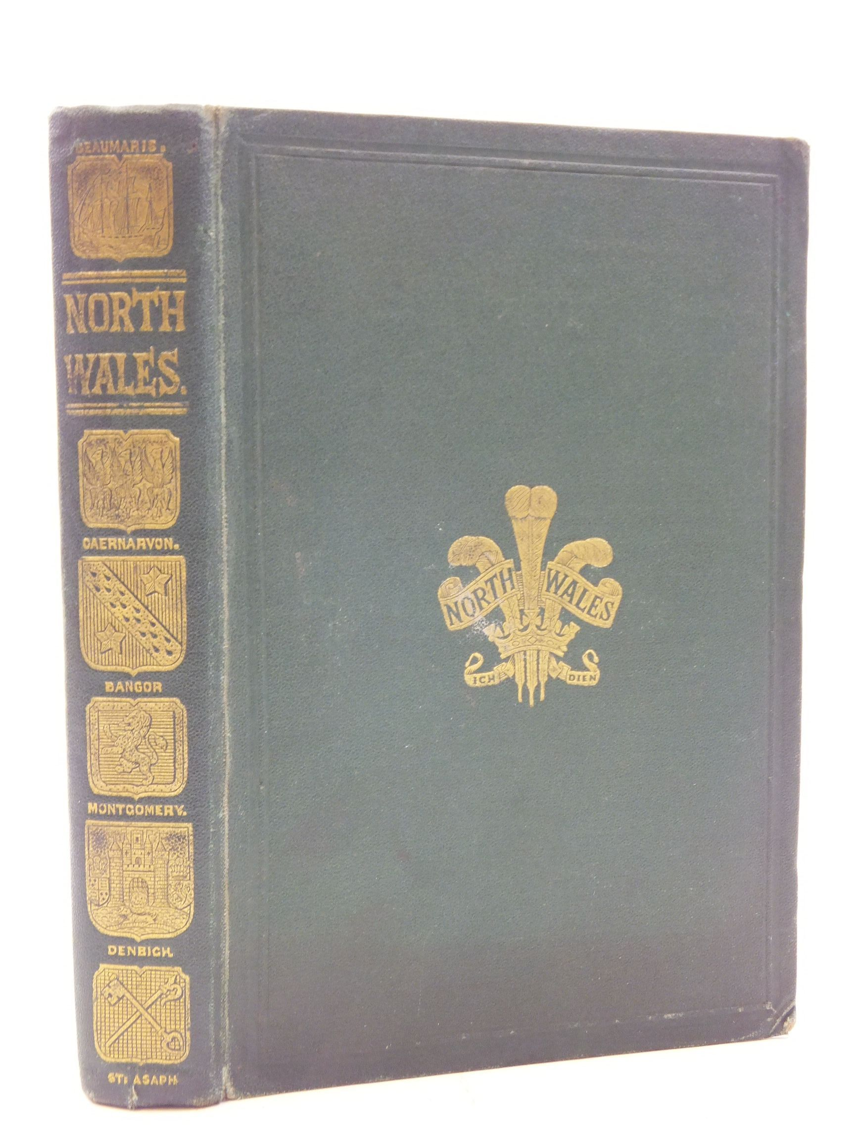 Photo of BLACK'S PICTURESQUE GUIDE TO NORTH WALES published by Adam & Charles Black (STOCK CODE: 2110067)  for sale by Stella & Rose's Books