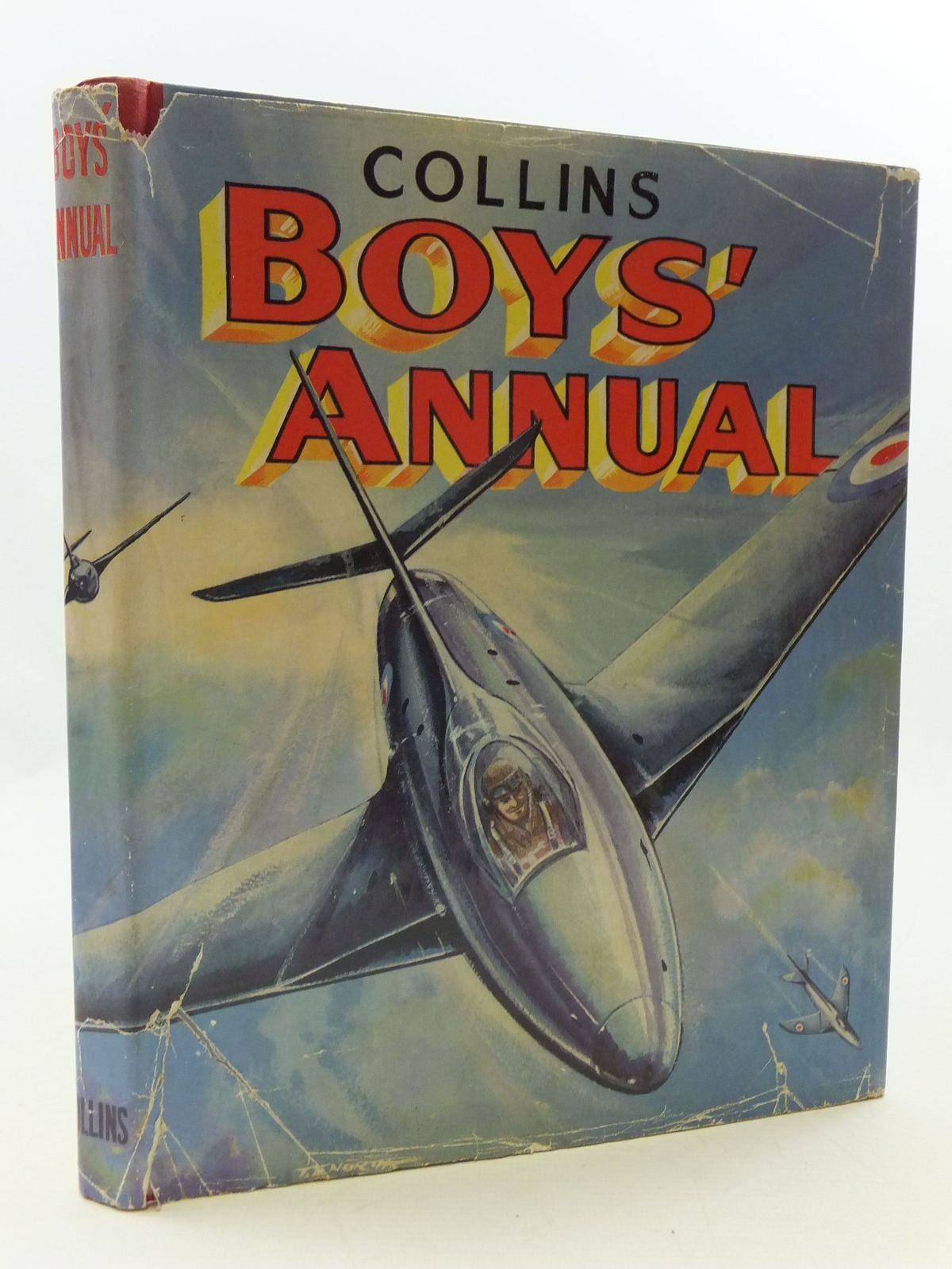Photo of COLLINS BOYS' ANNUAL written by Buckeridge, Anthony<br />Jeffries, Jeff<br />et al,  illustrated by Kennedy, Richard<br />et al.,  published by Collins (STOCK CODE: 2110288)  for sale by Stella & Rose's Books