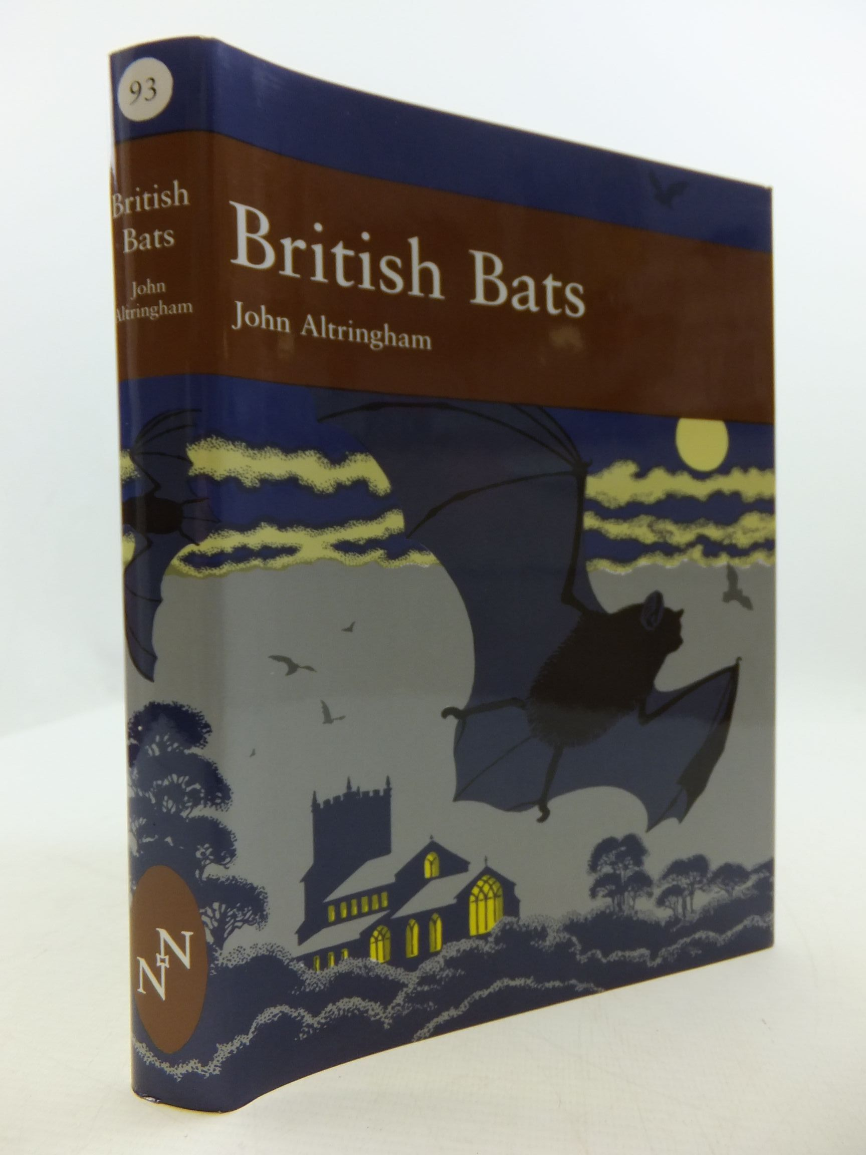 Photo of BRITISH BATS (NN 93) written by Altringham, John published by Collins (STOCK CODE: 2110323)  for sale by Stella & Rose's Books