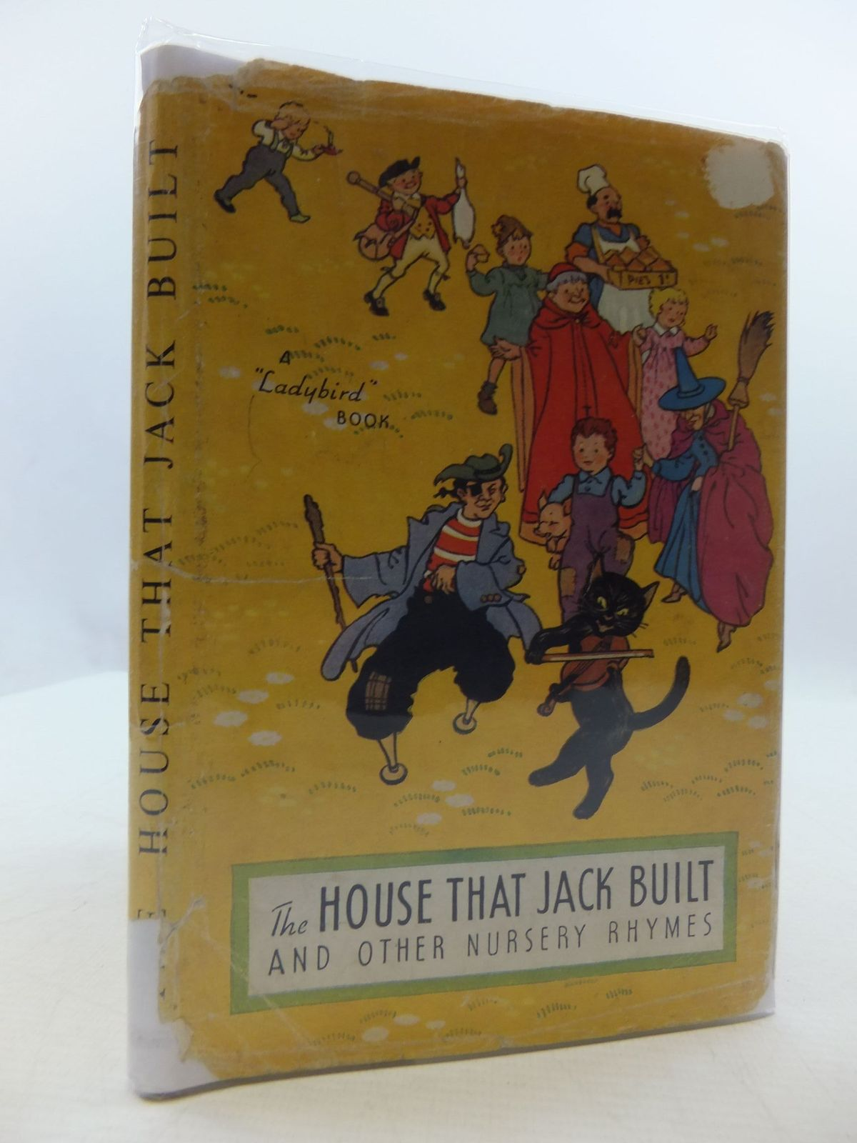 Photo of THE HOUSE THAT JACK BUILT AND OTHER NURSERY RHYMES written by Levy, Muriel illustrated by Brook, George published by Wills & Hepworth Ltd. (STOCK CODE: 2110377)  for sale by Stella & Rose's Books