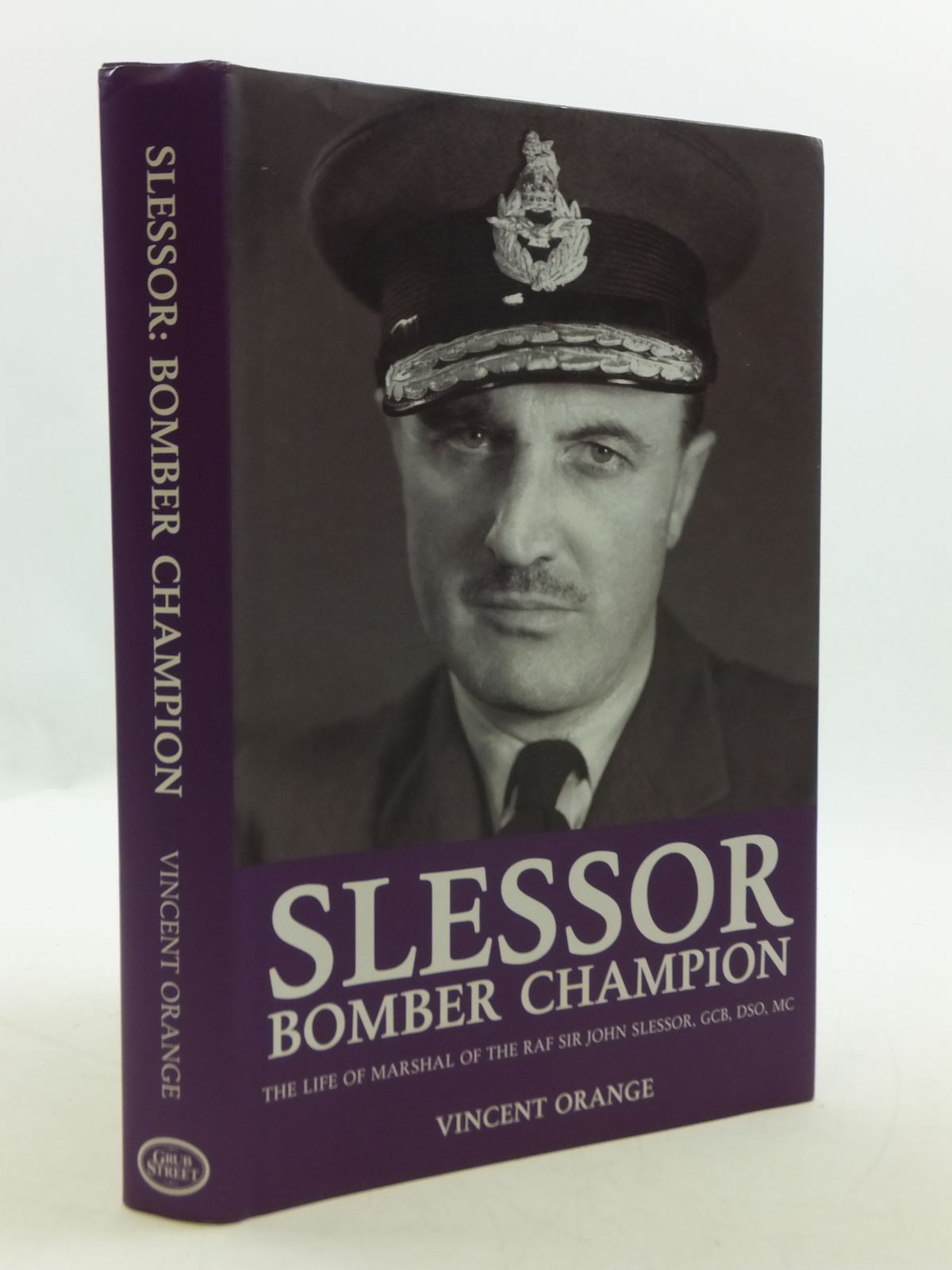 Photo of SLESSOR: BOMBER CHAMPION written by Orange, Vincent published by Grub Street (STOCK CODE: 2110568)  for sale by Stella & Rose's Books