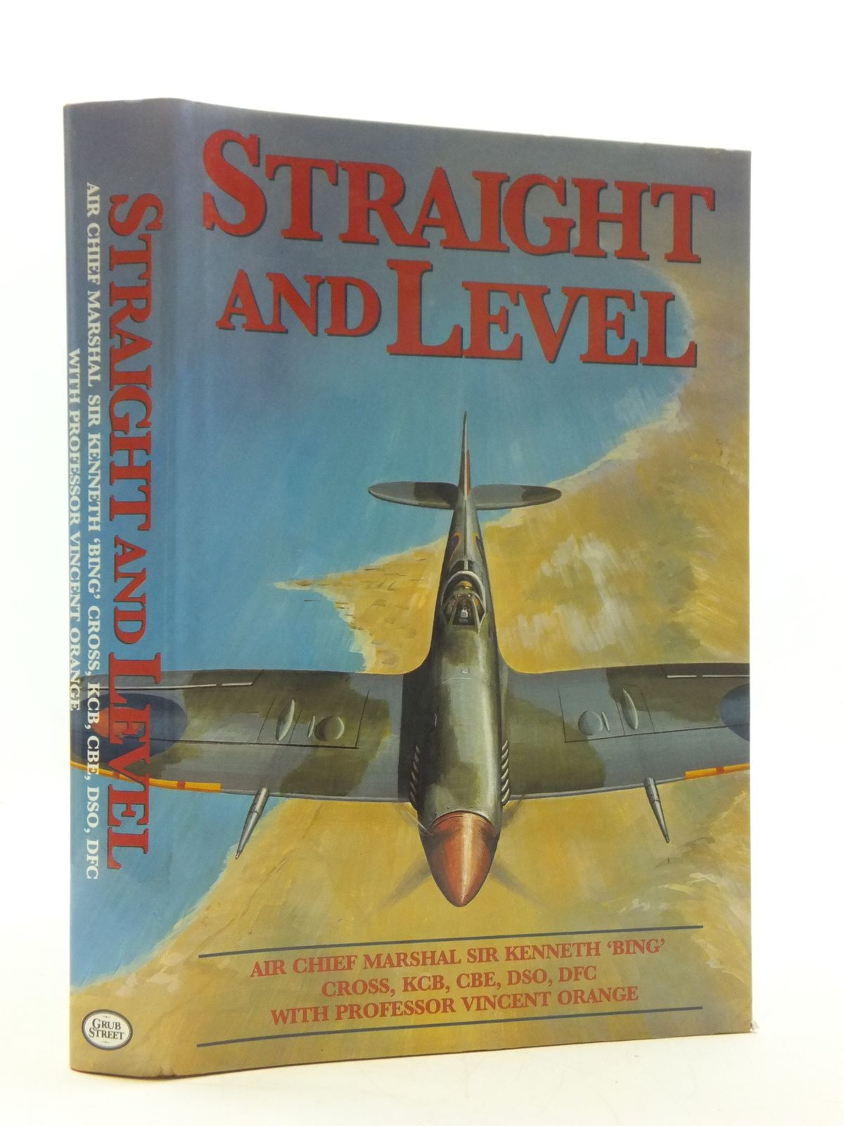 Photo of STRAIGHT AND LEVEL written by Cross, Kenneth published by Grub Street (STOCK CODE: 2110570)  for sale by Stella & Rose's Books