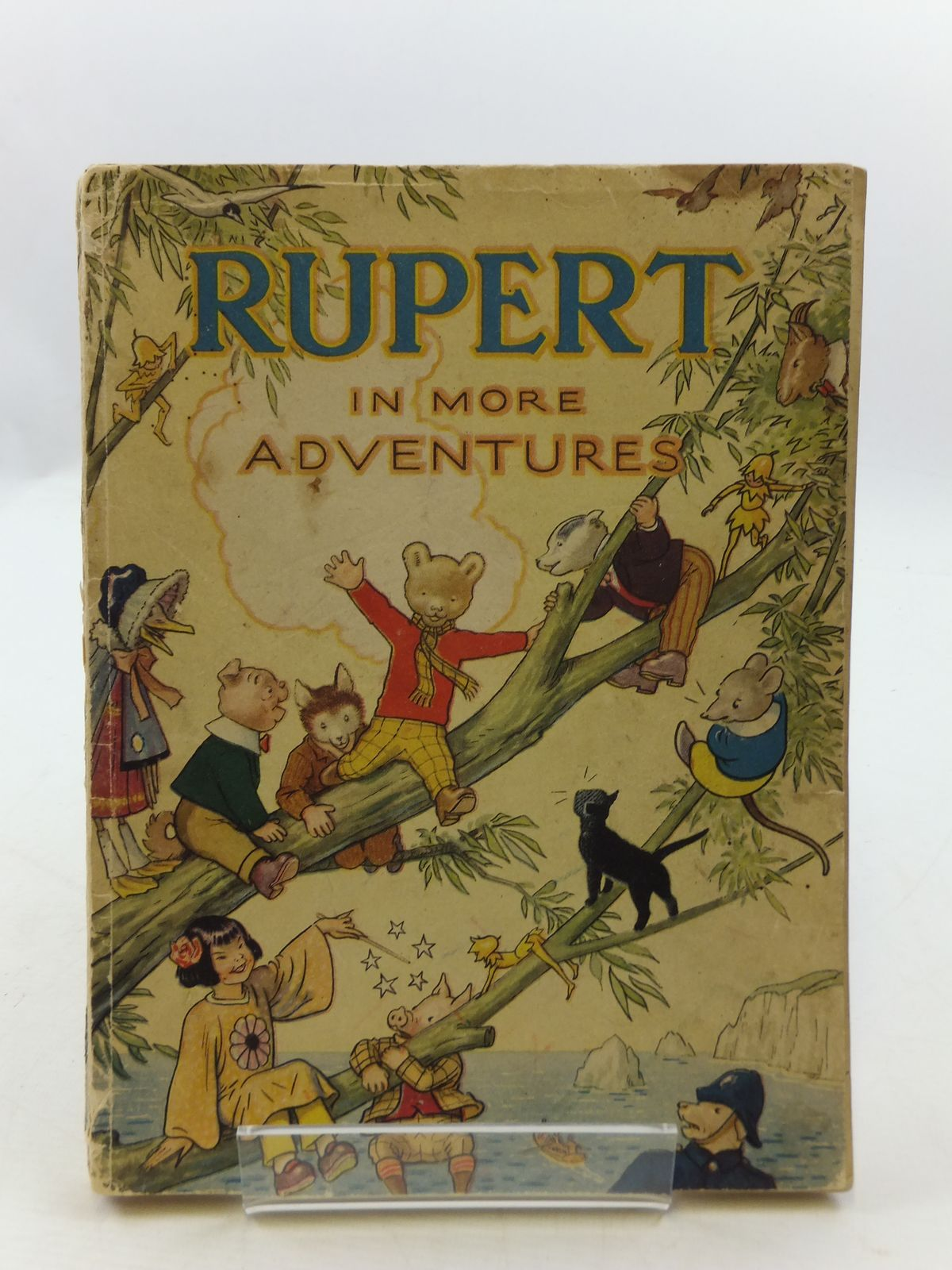 Photo of RUPERT ANNUAL 1944 - RUPERT IN MORE ADVENTURES written by Bestall, Alfred illustrated by Bestall, Alfred published by Daily Express (STOCK CODE: 2110633)  for sale by Stella & Rose's Books