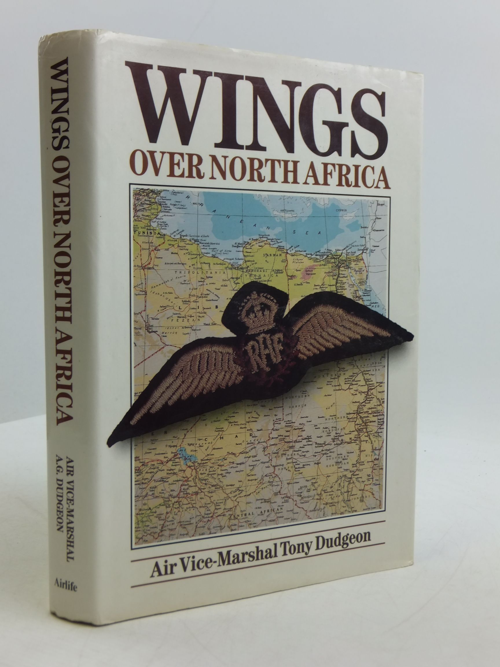 Photo of WINGS OVER NORTH AFRICA written by Dudgeon, Tony published by Airlife (STOCK CODE: 2110784)  for sale by Stella & Rose's Books