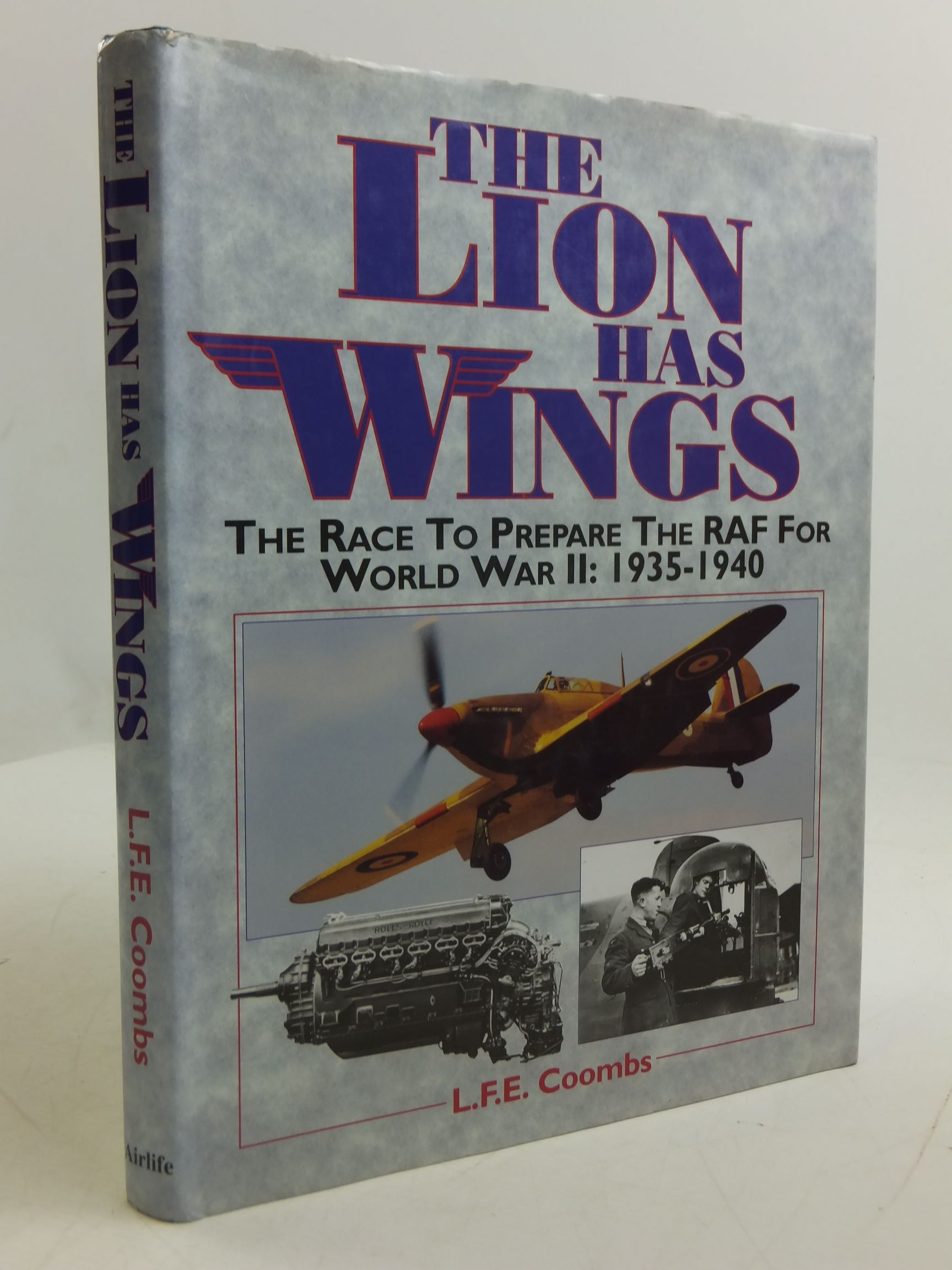 Photo of THE LION HAS WINGS written by Coombs, L.F.E. published by Airlife (STOCK CODE: 2110807)  for sale by Stella & Rose's Books