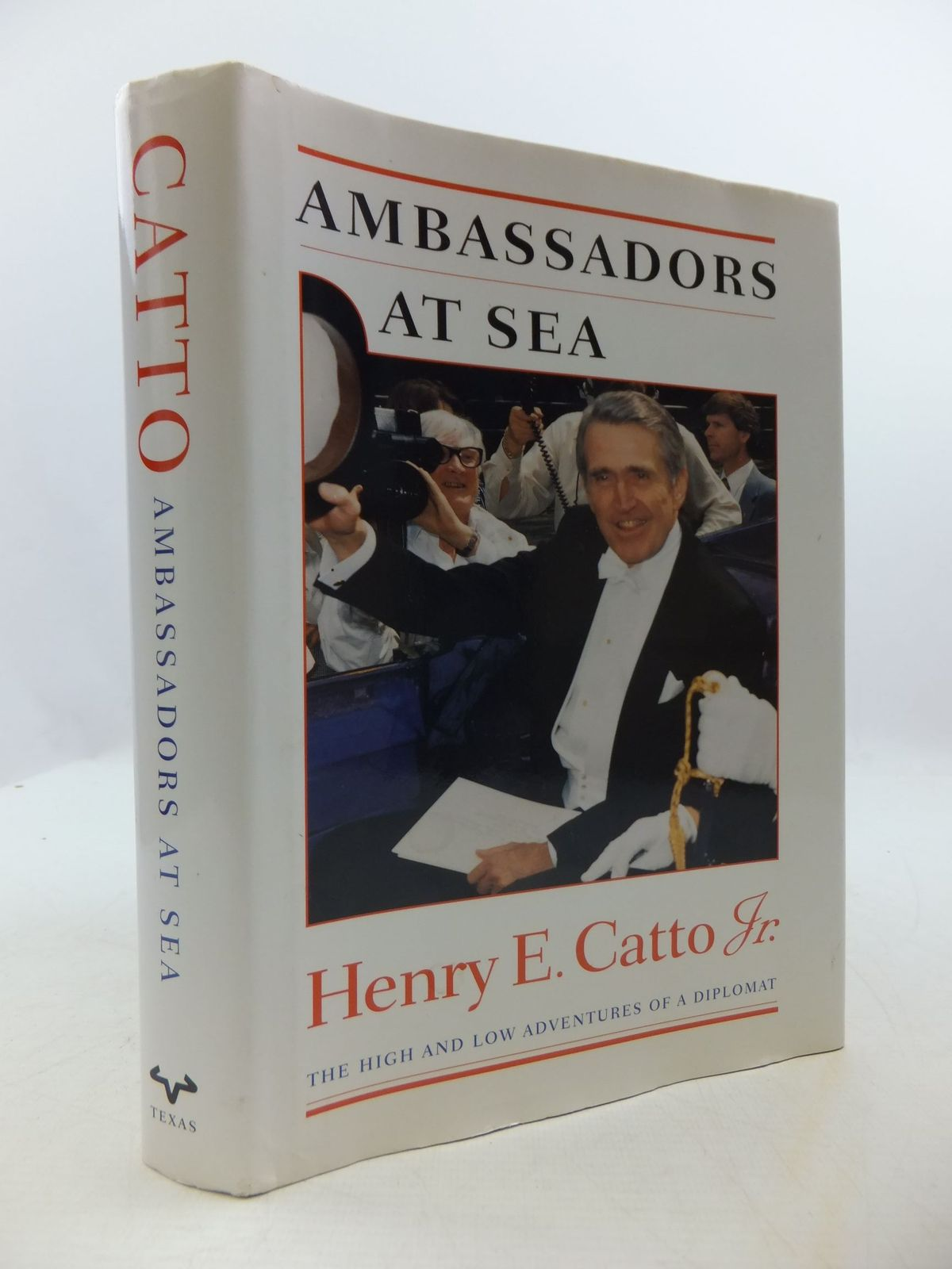 Photo of AMBASSADORS AT SEA written by Catto, Henry E. published by University of Texas Press (STOCK CODE: 2111058)  for sale by Stella & Rose's Books