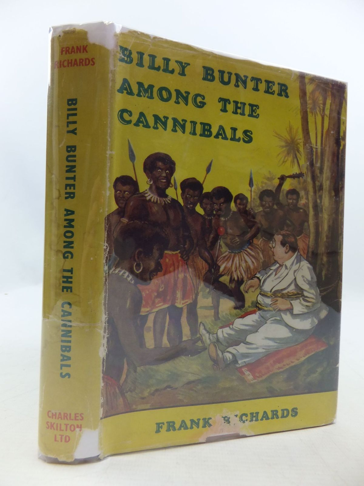 Photo of BILLY BUNTER AMONG THE CANNIBALS written by Richards, Frank illustrated by Macdonald, R.J. published by Charles Skilton (STOCK CODE: 2111125)  for sale by Stella & Rose's Books
