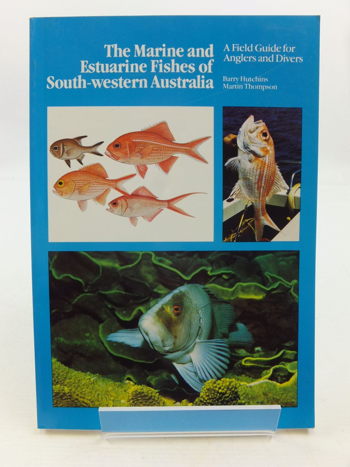 Photo of THE MARINE AND ESTUARINE FISHES OF SOUTH-WESTERN AUSTRALIA written by Hutchins, Barry<br />Thompson, Martin published by Western Australian Museum (STOCK CODE: 2111187)  for sale by Stella & Rose's Books