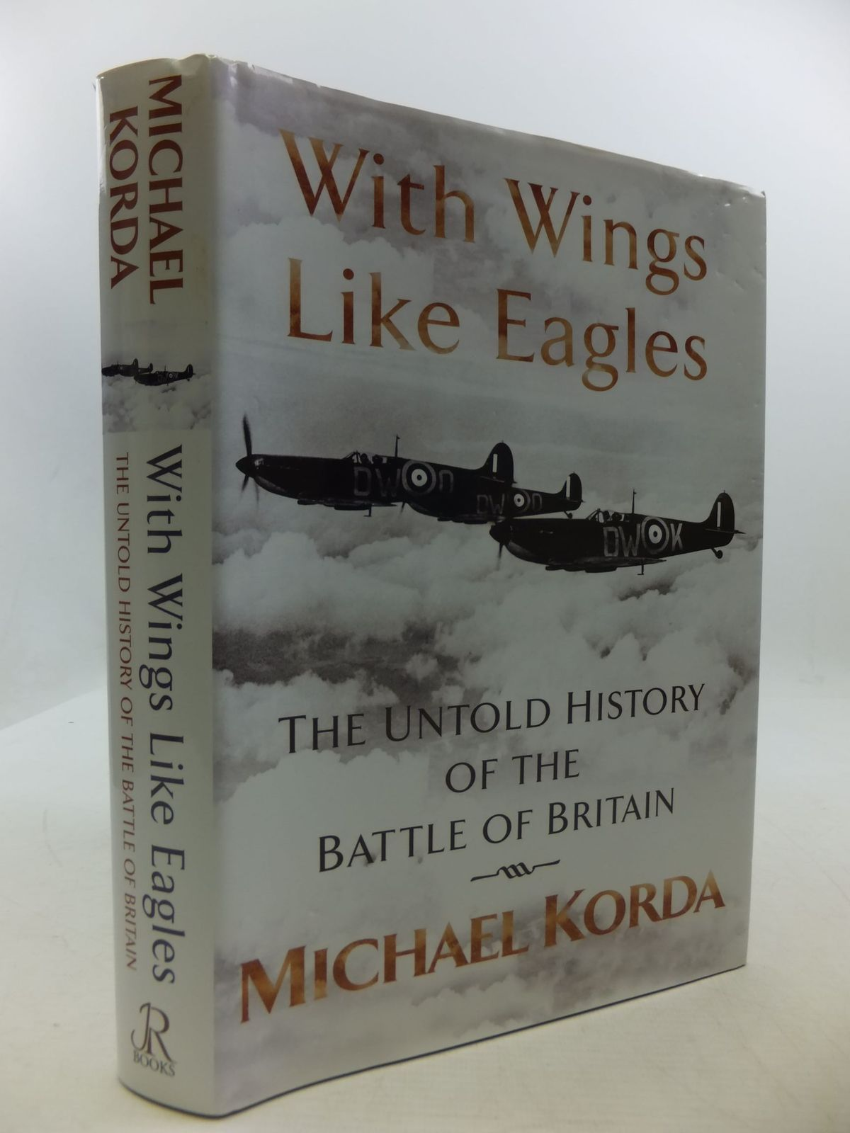 Photo of WITH WINGS LIKE EAGLES written by Korda, Michael published by Jr Books (STOCK CODE: 2111231)  for sale by Stella & Rose's Books