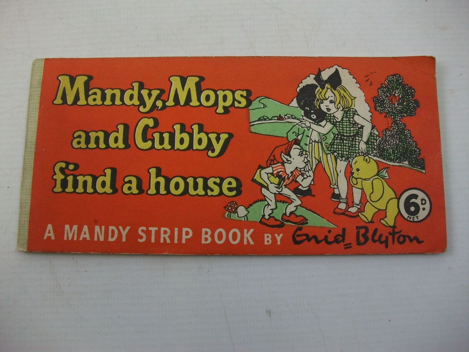 Photo of MANDY, MOPS AND CUBBY FIND A HOUSE written by Blyton, Enid illustrated by Wheeler, Dorothy M. published by Sampson Low (STOCK CODE: 2111418)  for sale by Stella & Rose's Books