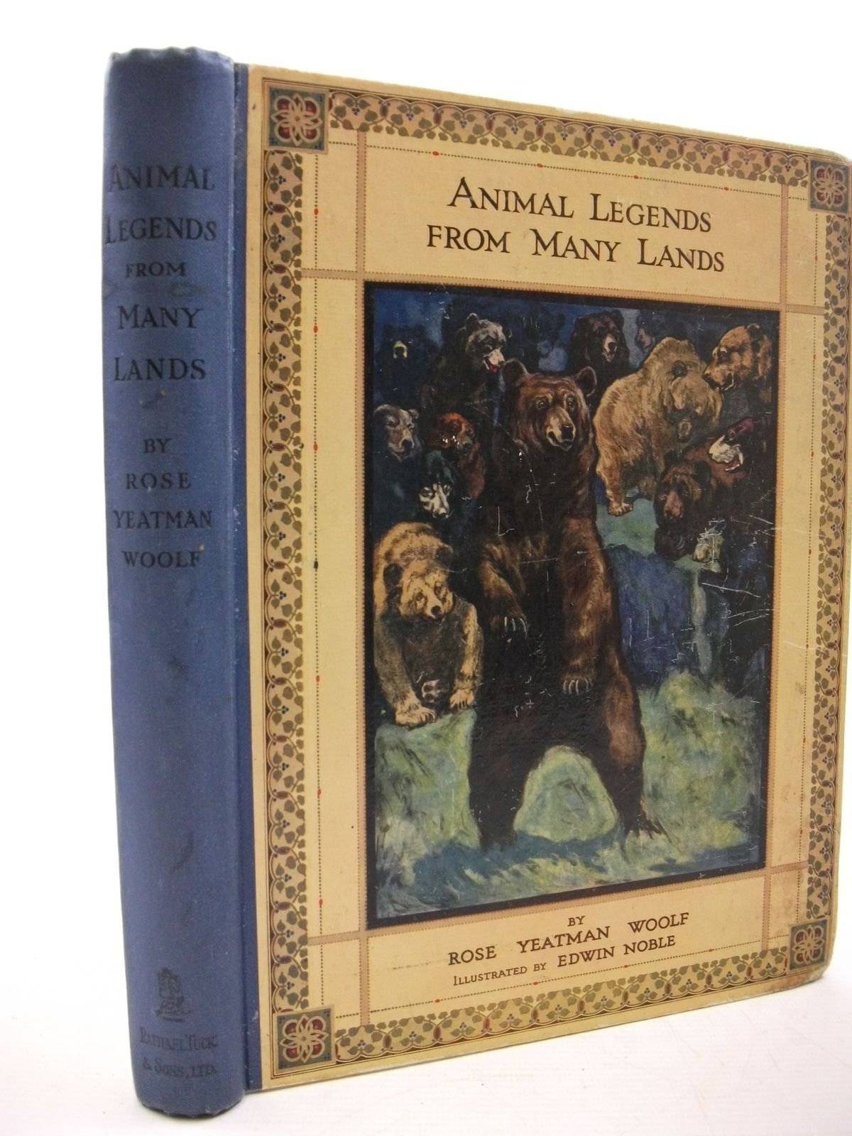 Photo of ANIMAL LEGENDS FROM MANY LANDS written by Woolf, Rose Yeatman illustrated by Noble, Edwin published by Raphael Tuck & Sons Ltd. (STOCK CODE: 2111425)  for sale by Stella & Rose's Books